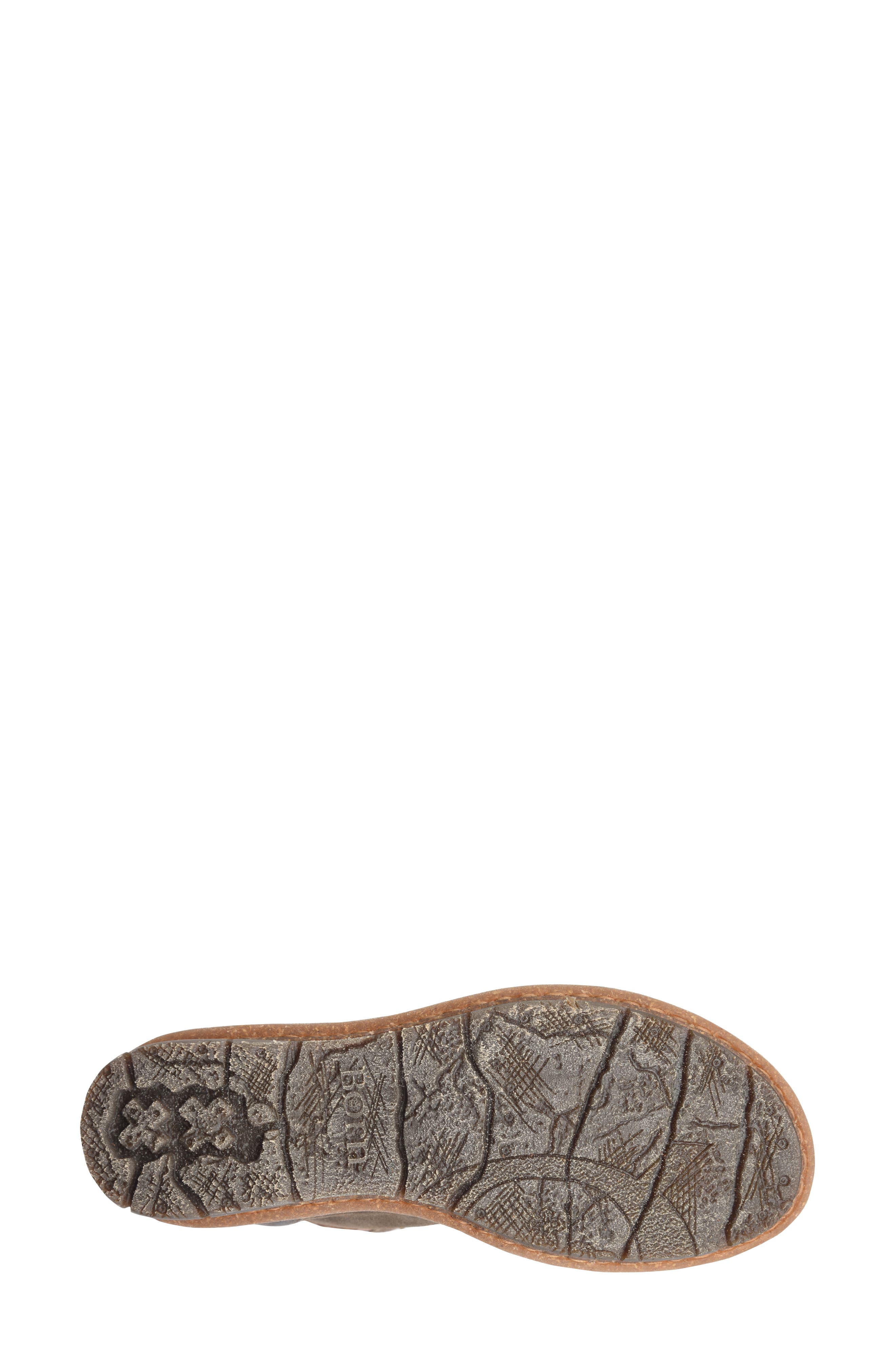 Temple Bootie,                             Alternate thumbnail 6, color,                             TAUPE DISTRESSED LEATHER