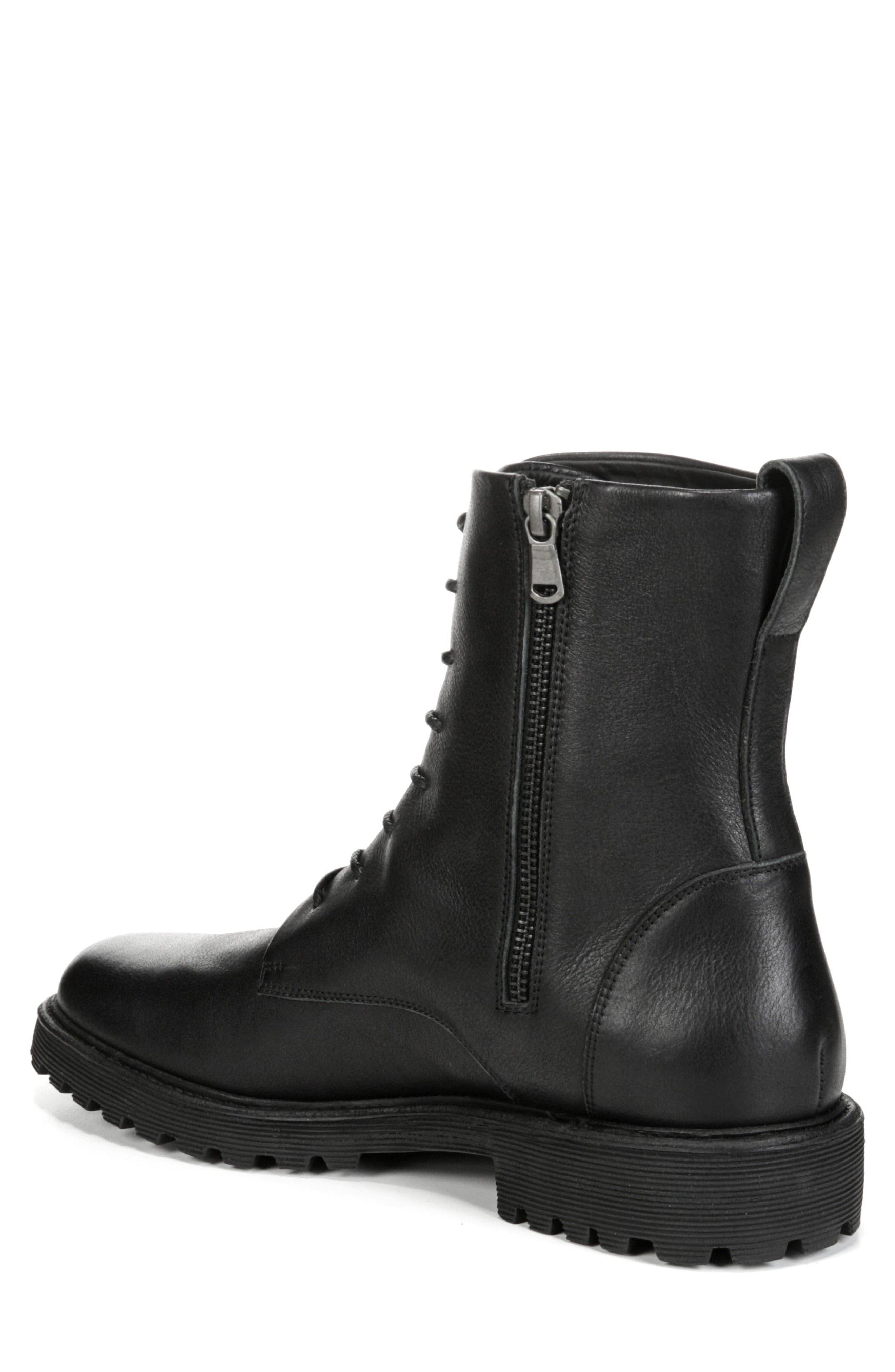 Brigade Plain Toe Boot,                             Alternate thumbnail 2, color,                             001