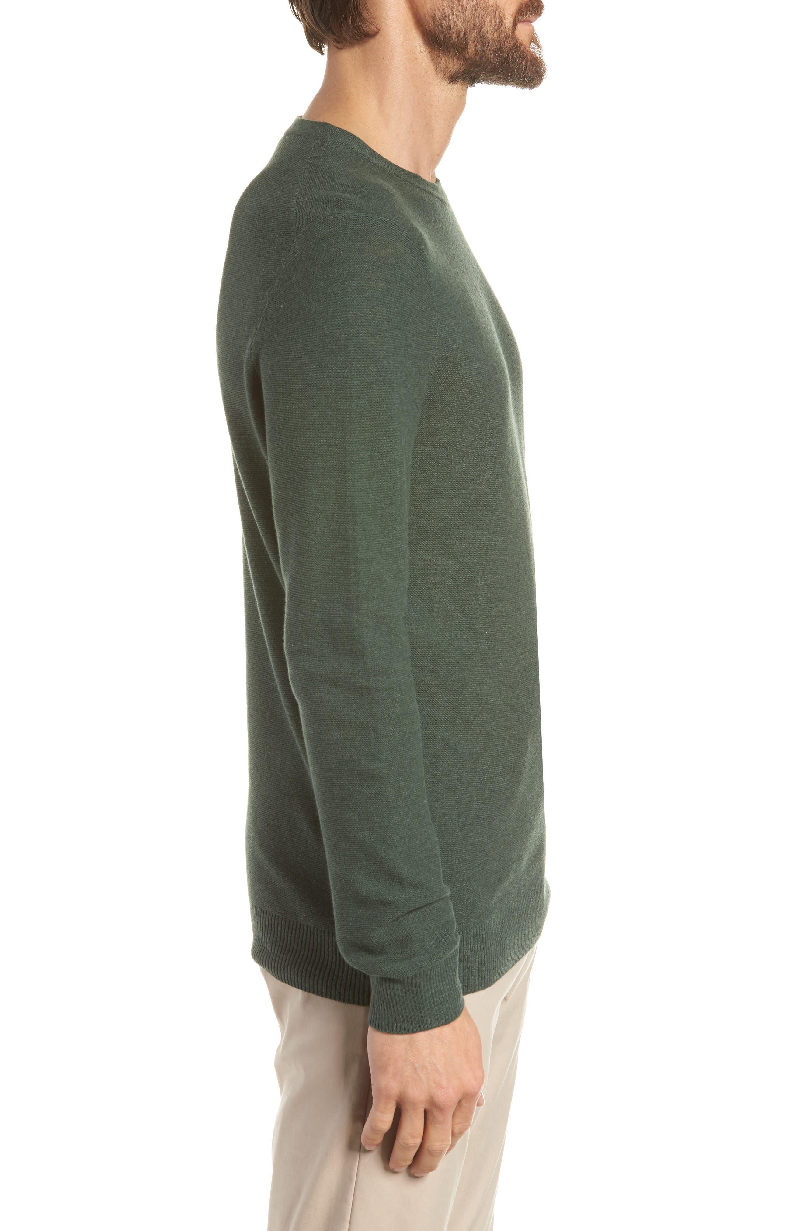 Slim Fit Crewneck Sweater,                             Alternate thumbnail 3, color,                             300