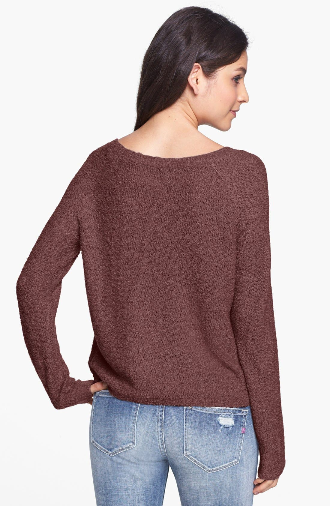'Grunge' Textured Sweater,                             Alternate thumbnail 26, color,