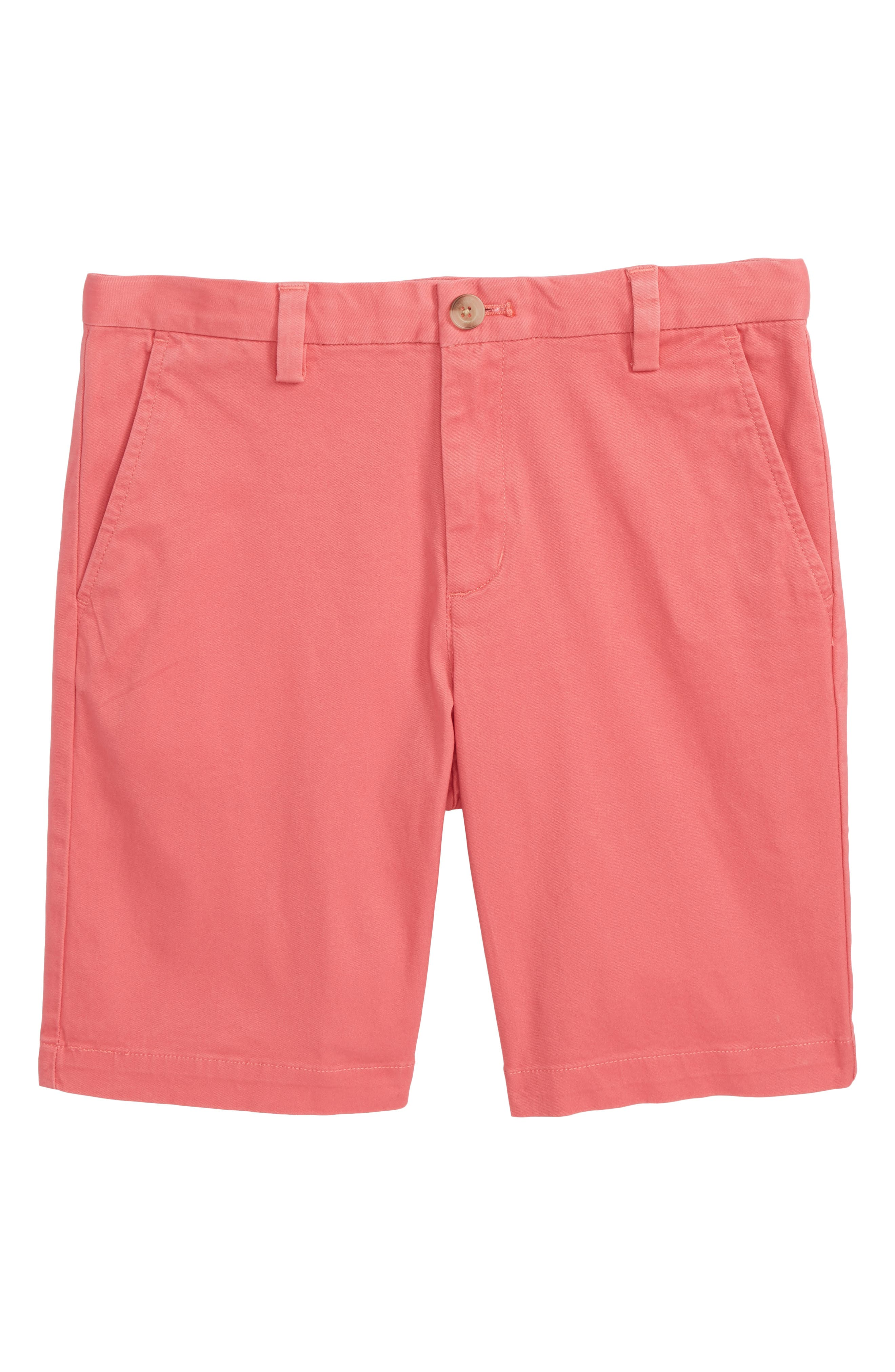 Stretch Breaker Shorts,                         Main,                         color, JETTY RED