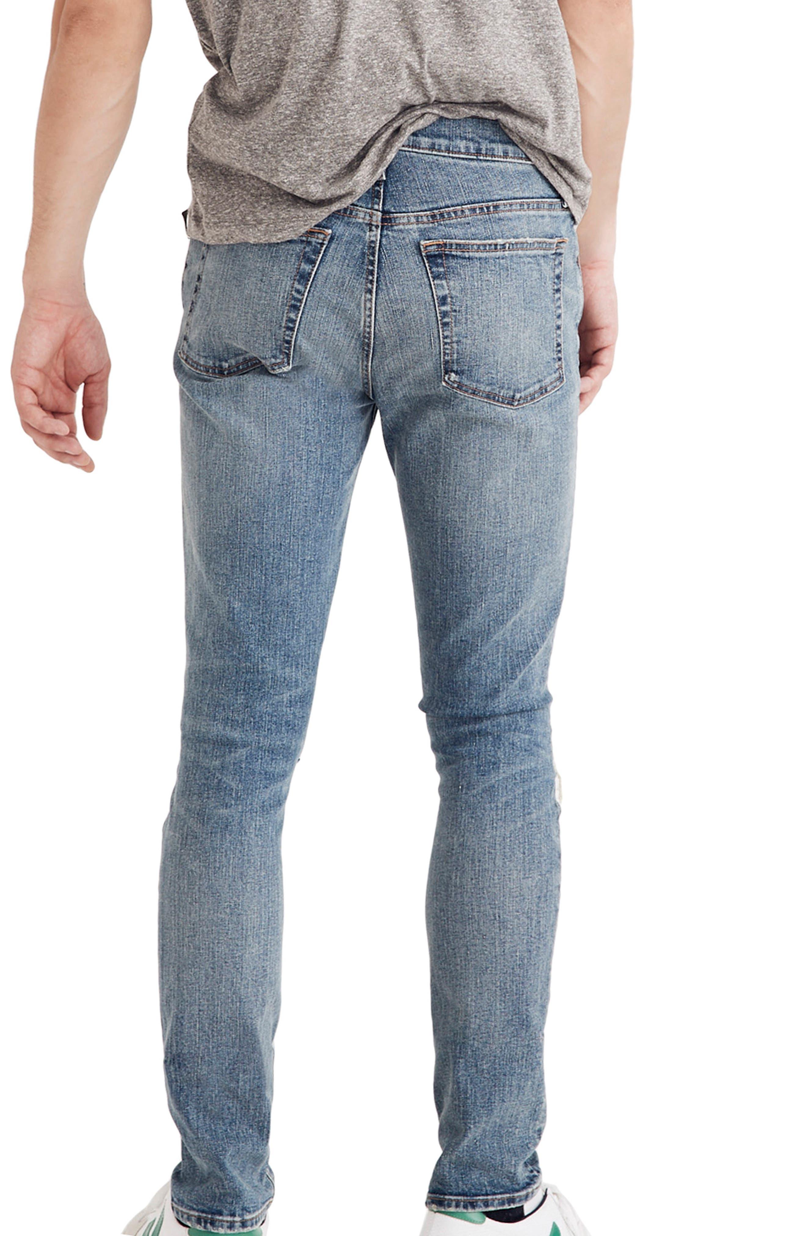 Skinny Fit Jeans,                             Alternate thumbnail 2, color,                             VINTAGE LIGHT