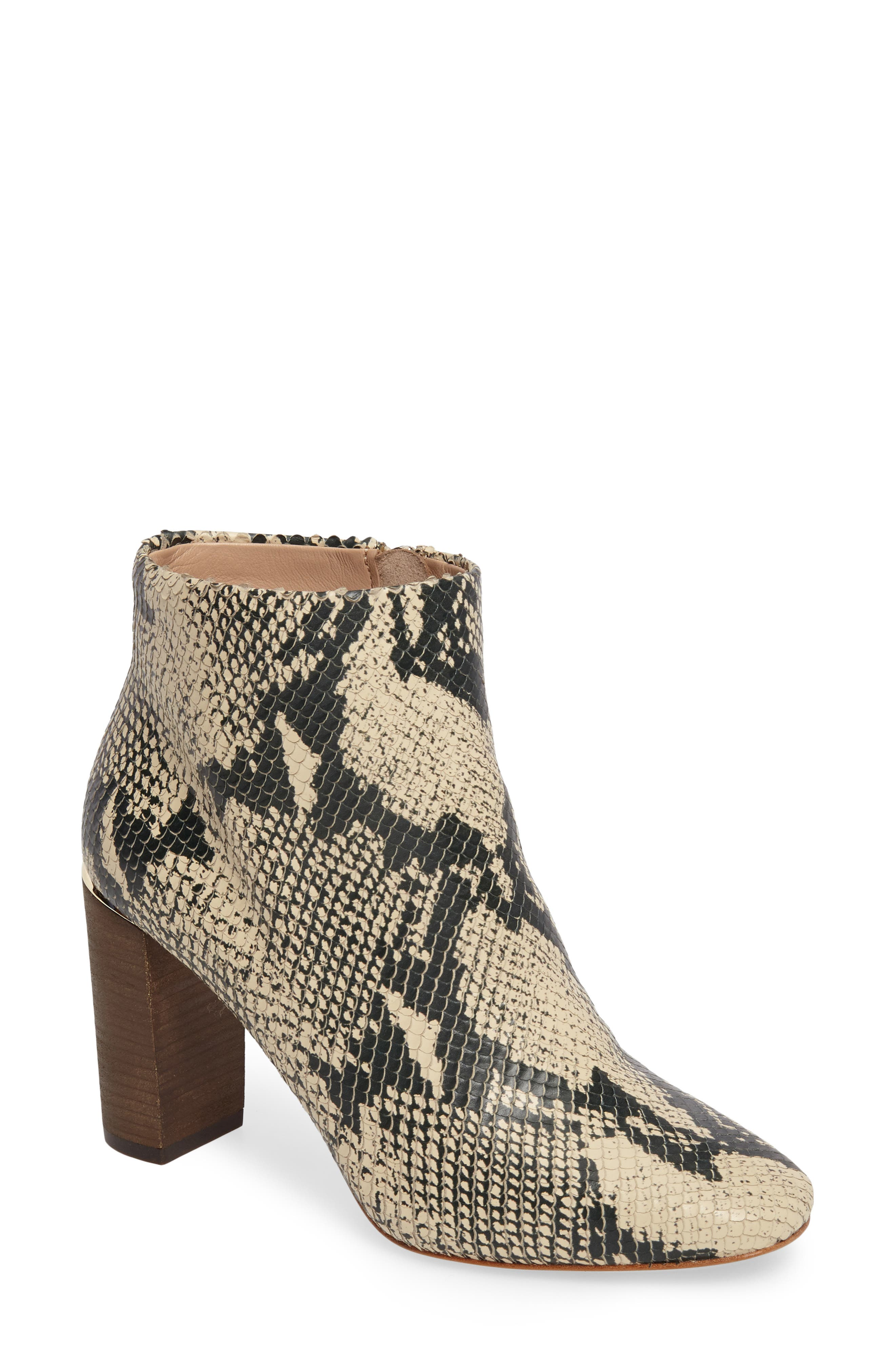 Rickie Crescent Heel Bootie,                             Main thumbnail 1, color,                             021