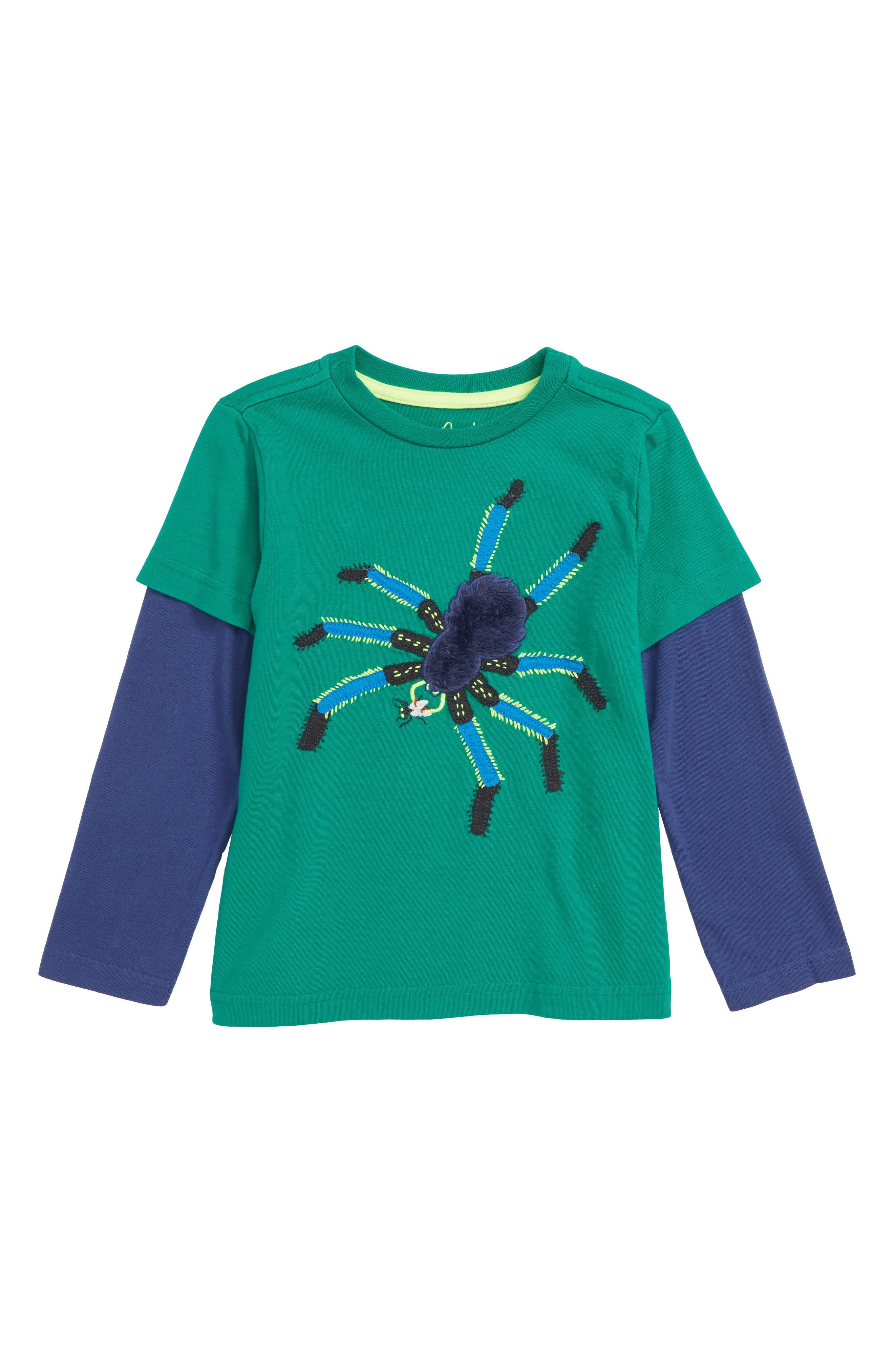 Creepy Crawly Spider T-Shirt,                             Main thumbnail 1, color,                             315