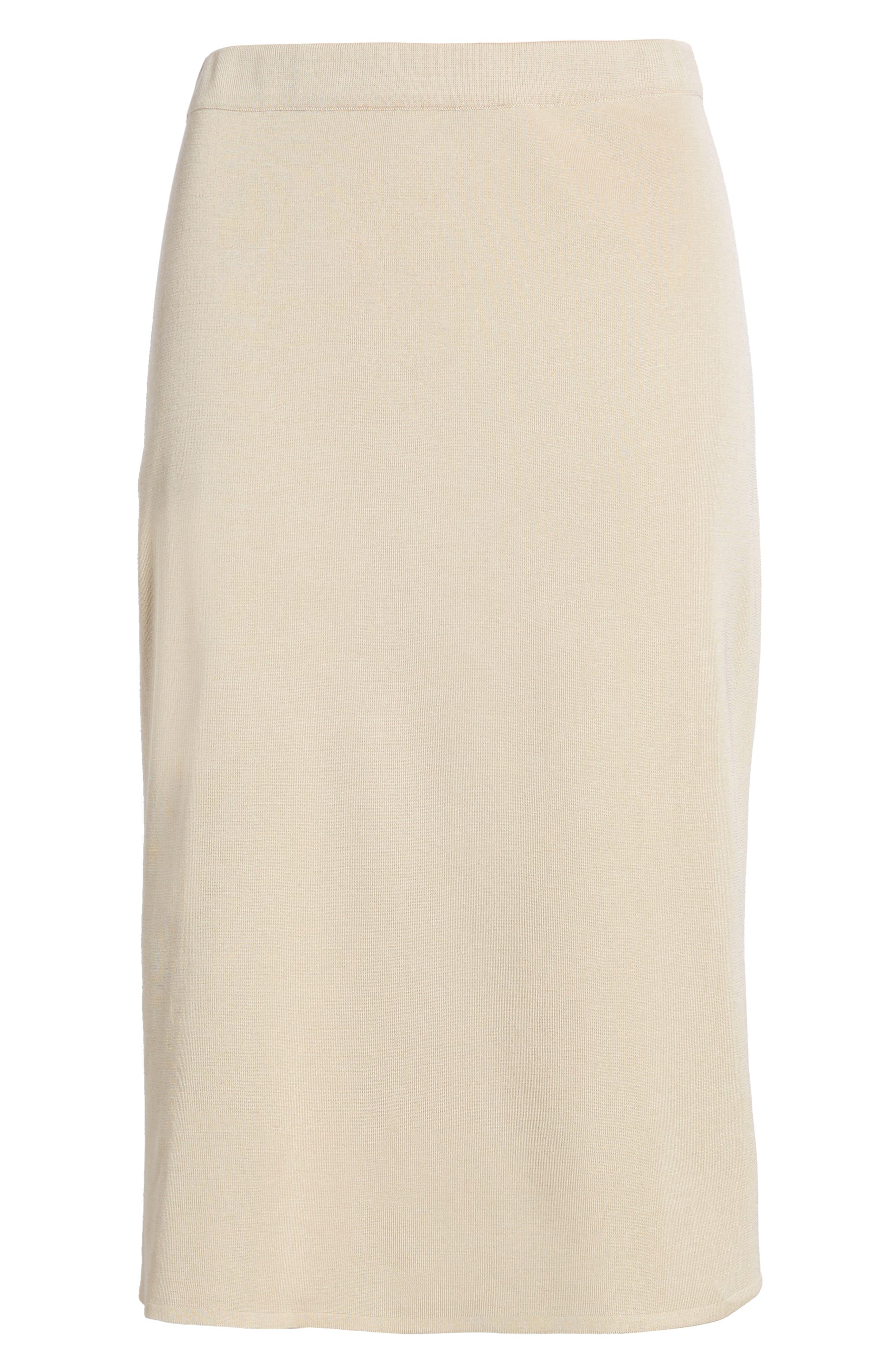 Straight Skirt,                             Alternate thumbnail 7, color,                             TWIG