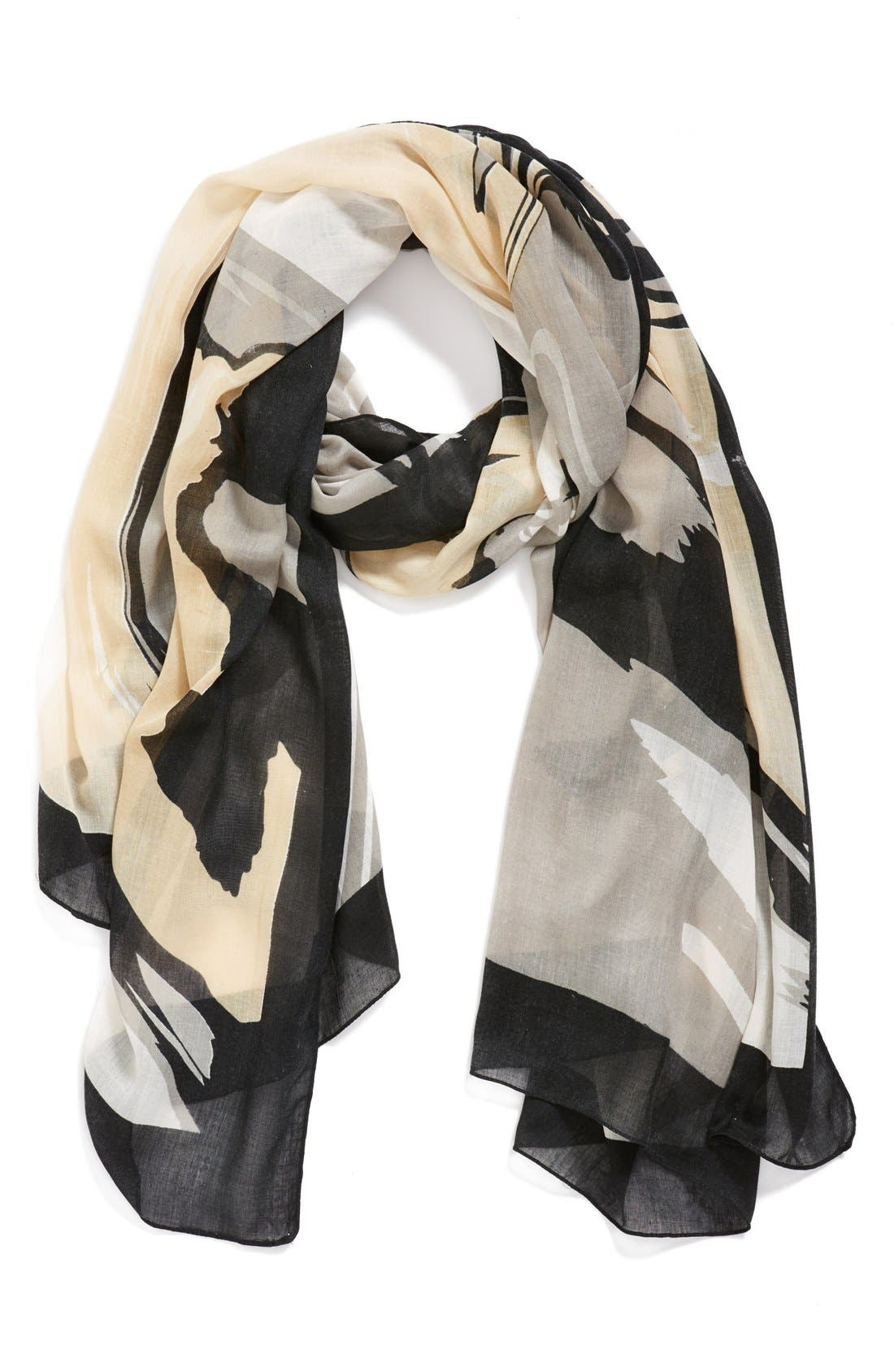 'Oversized Swirl' Scarf,                         Main,                         color, 250