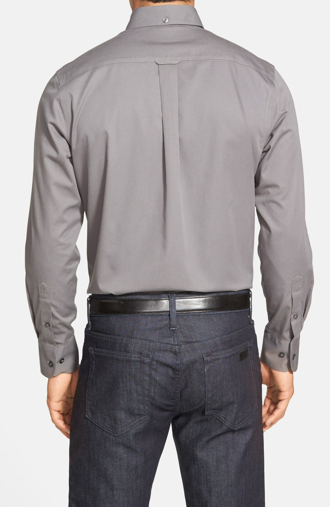 Smartcare<sup>™</sup> Traditional Fit Twill Boat Shirt,                             Alternate thumbnail 179, color,