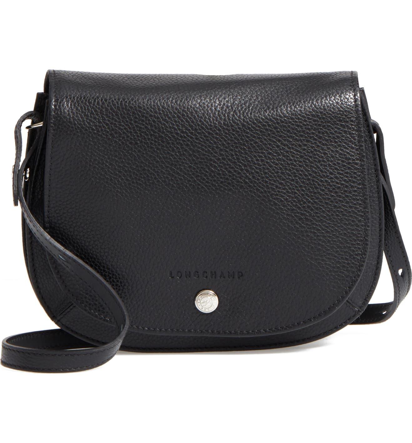 Longchamp Small Le Foulonne Leather Crossbody Bag   Nordstrom 45a5168d6d
