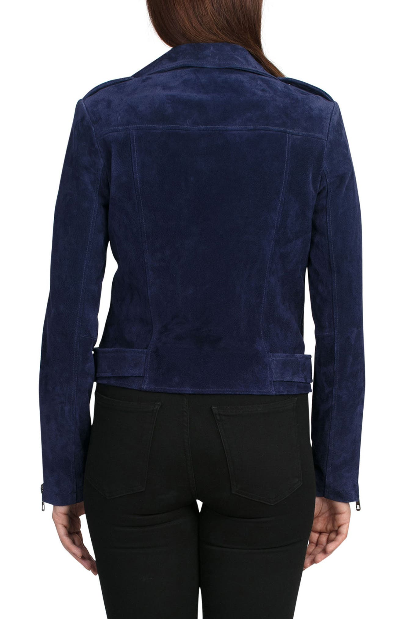 NYC  Suede Jacket,                             Alternate thumbnail 13, color,