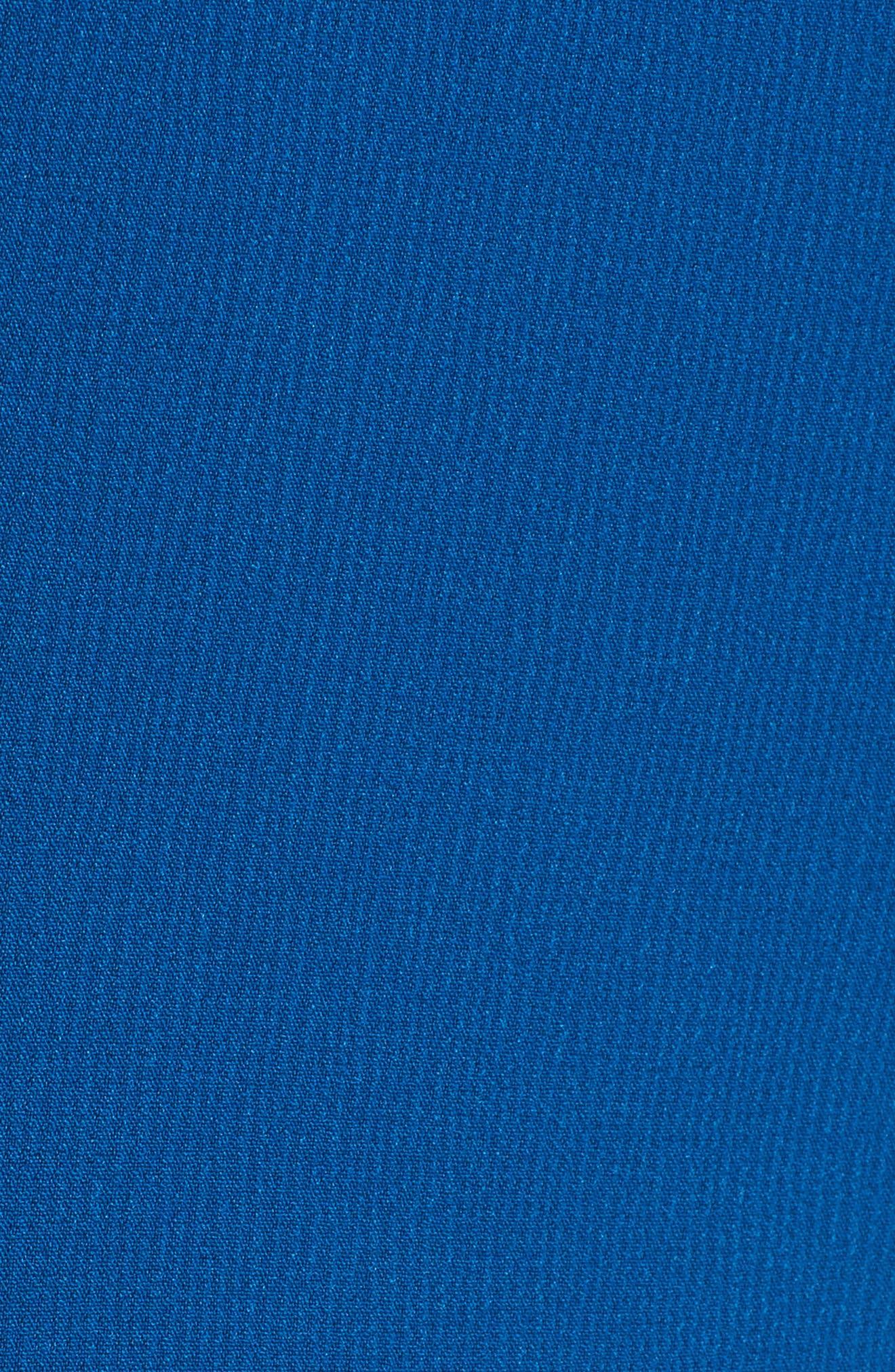 Danafea Zip Detail Sheath Dress,                             Alternate thumbnail 5, color,                             424