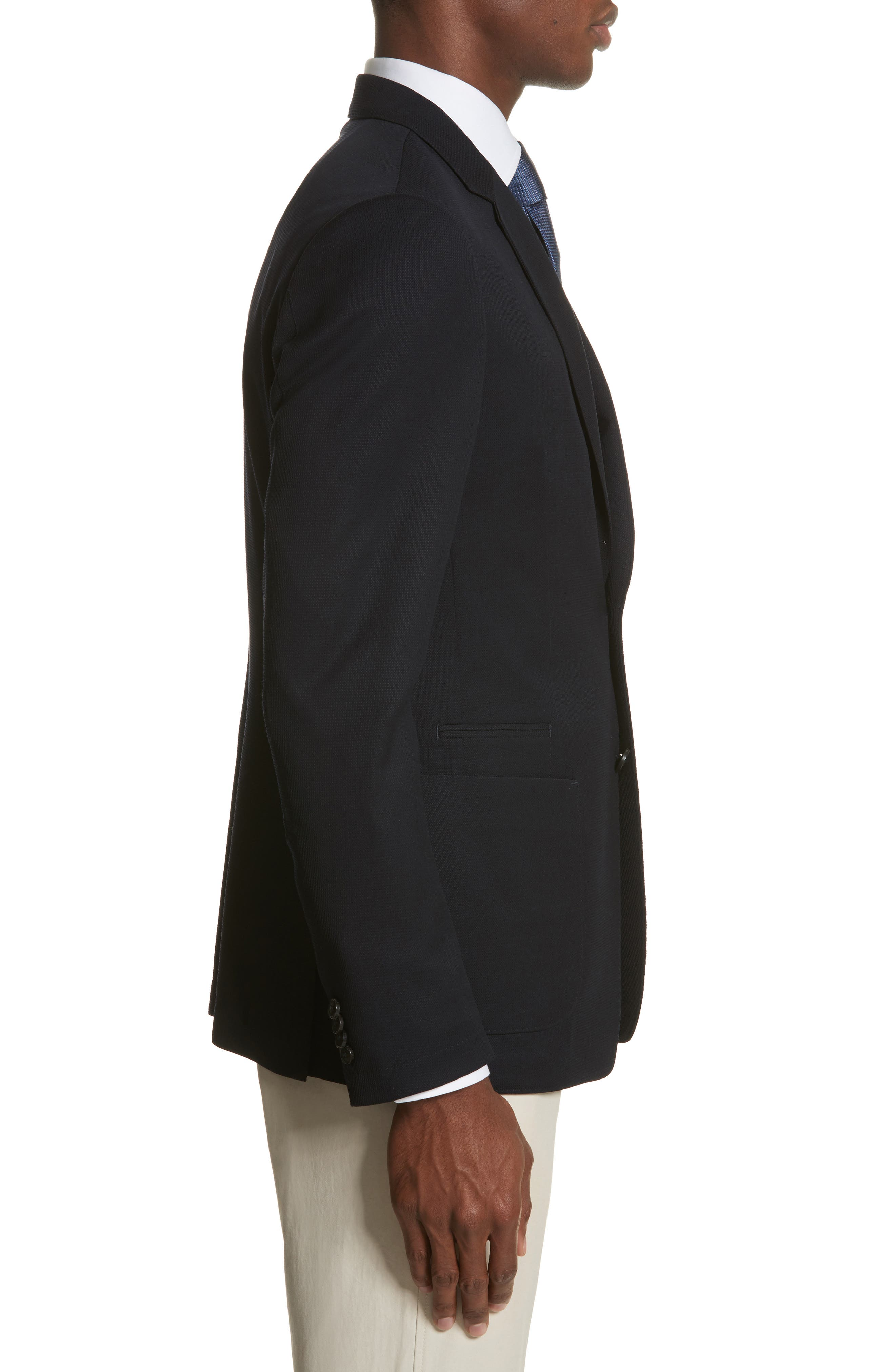 TECHMERINO<sup>™</sup> Wash & Go Classic Fit Wool Blazer,                             Alternate thumbnail 3, color,
