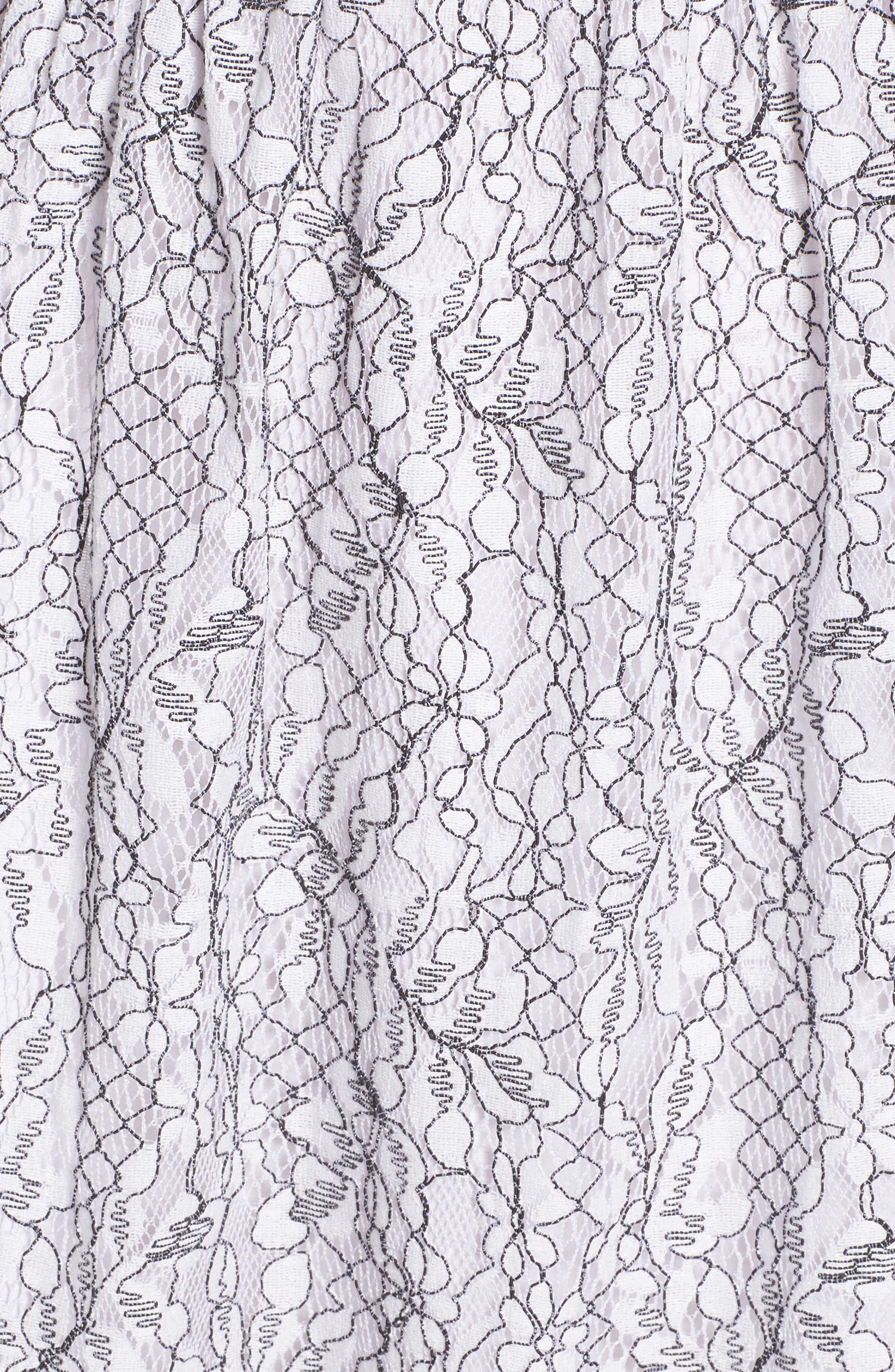 Ezzy Lace Dress,                             Alternate thumbnail 5, color,                             900