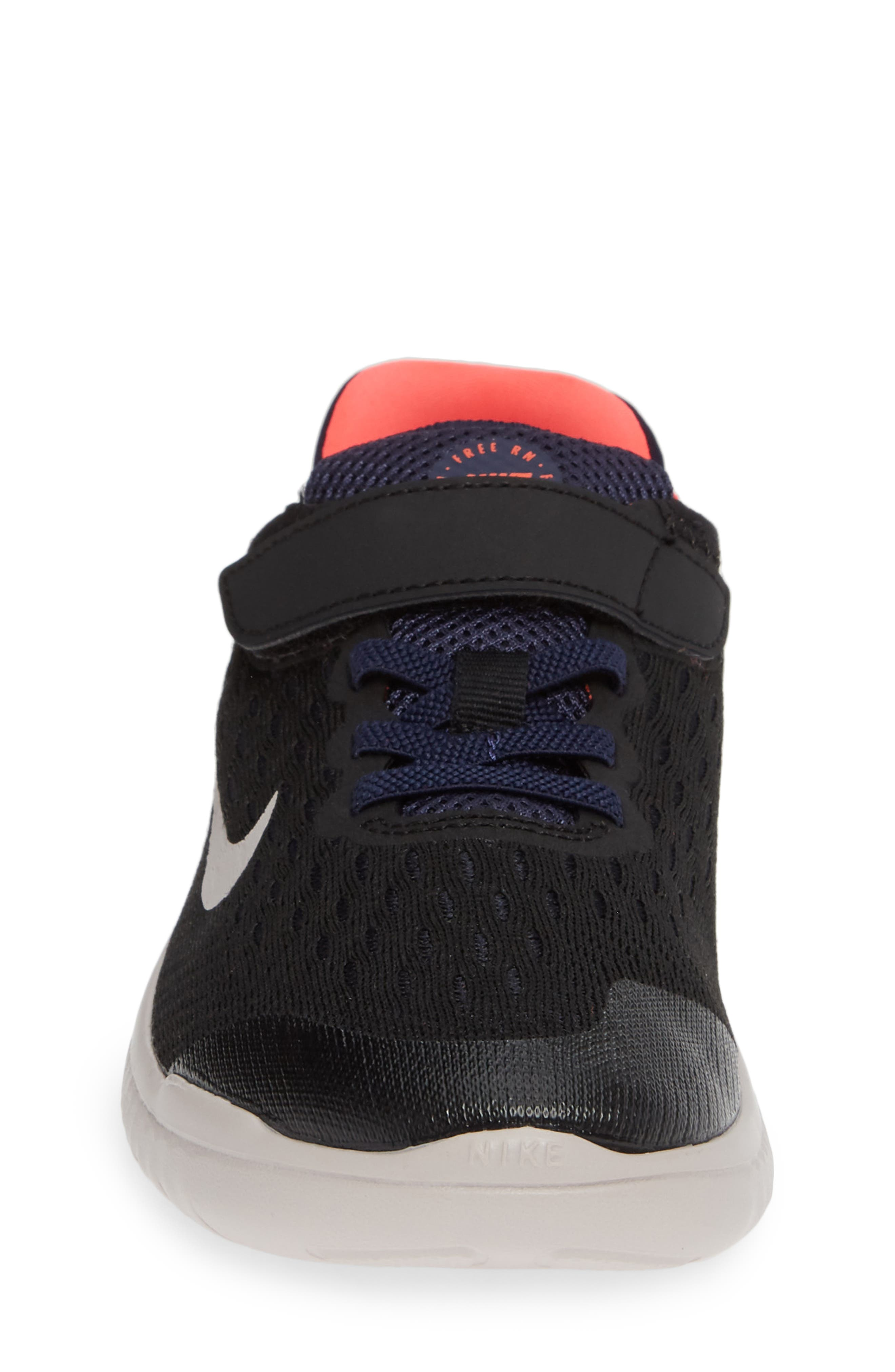 Free RN Running Shoe,                             Alternate thumbnail 4, color,                             BLACK MOON PARTICLE