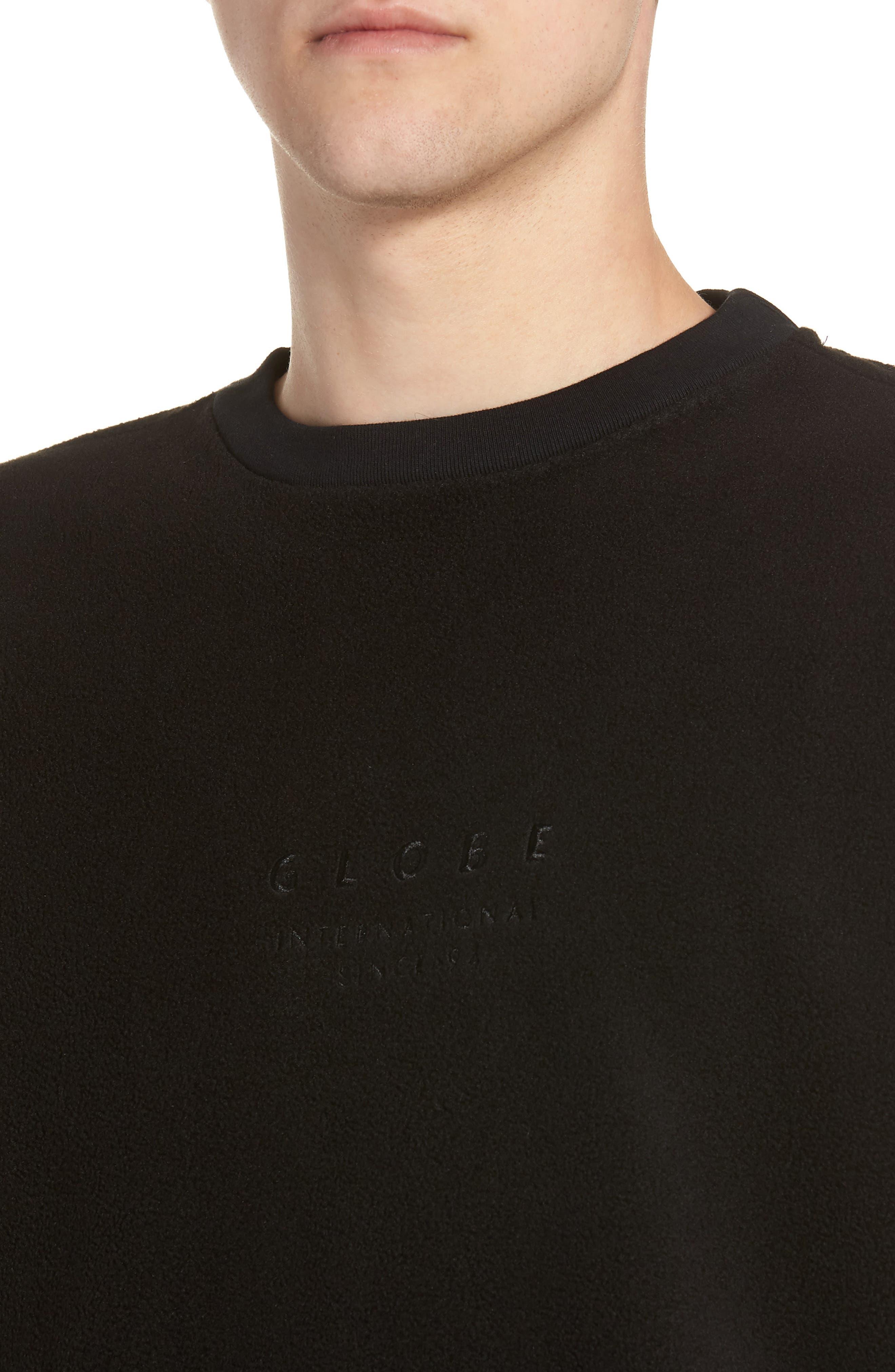 State Sweatshirt,                             Alternate thumbnail 4, color,                             BLACK