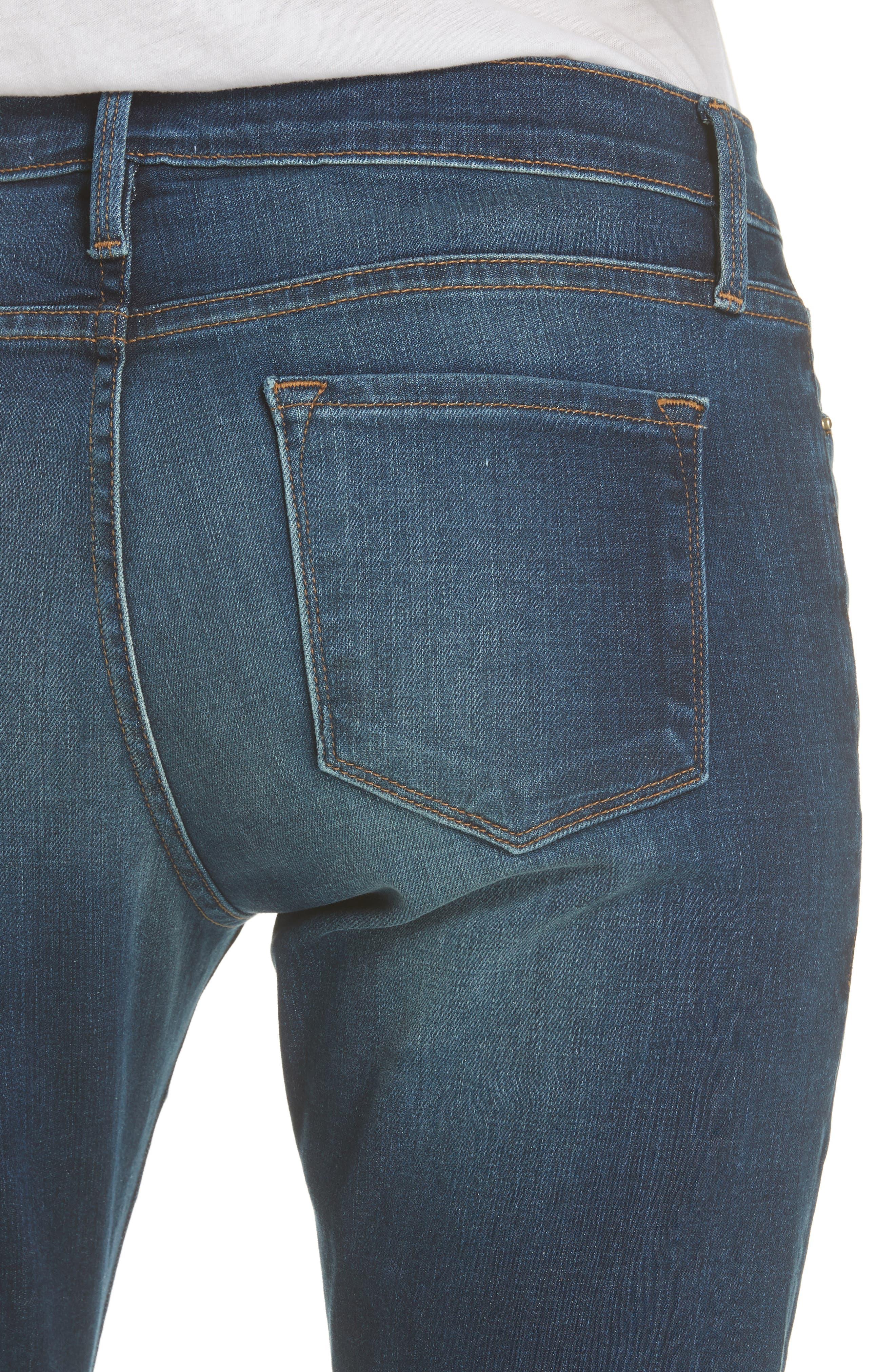 Le Garcon Slim Boyfriend Jeans,                             Alternate thumbnail 6, color,                             WESTFIELD
