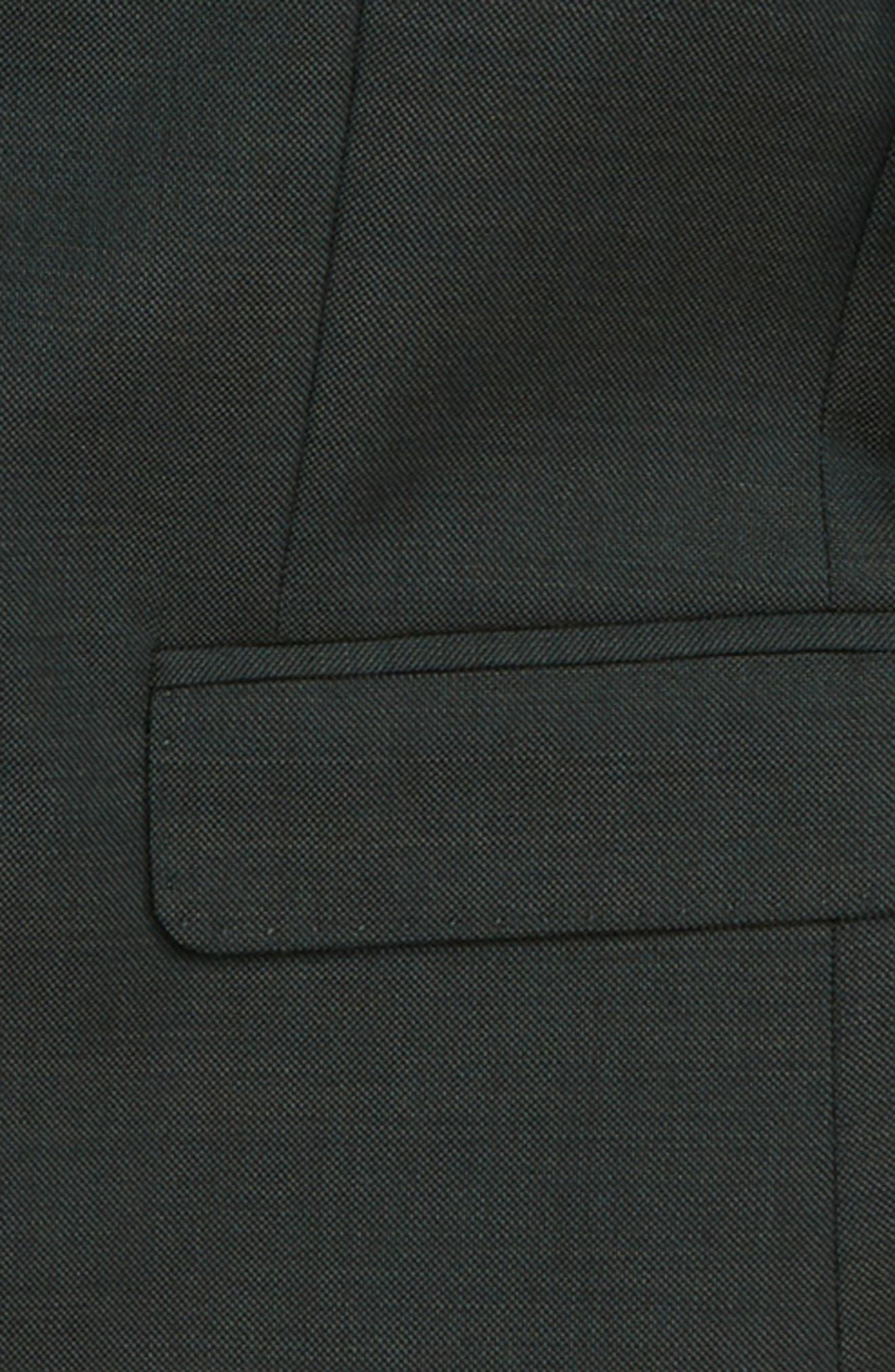 Ludlow Stretch Wool Suit Jacket,                             Alternate thumbnail 2, color,                             DARK GREEN