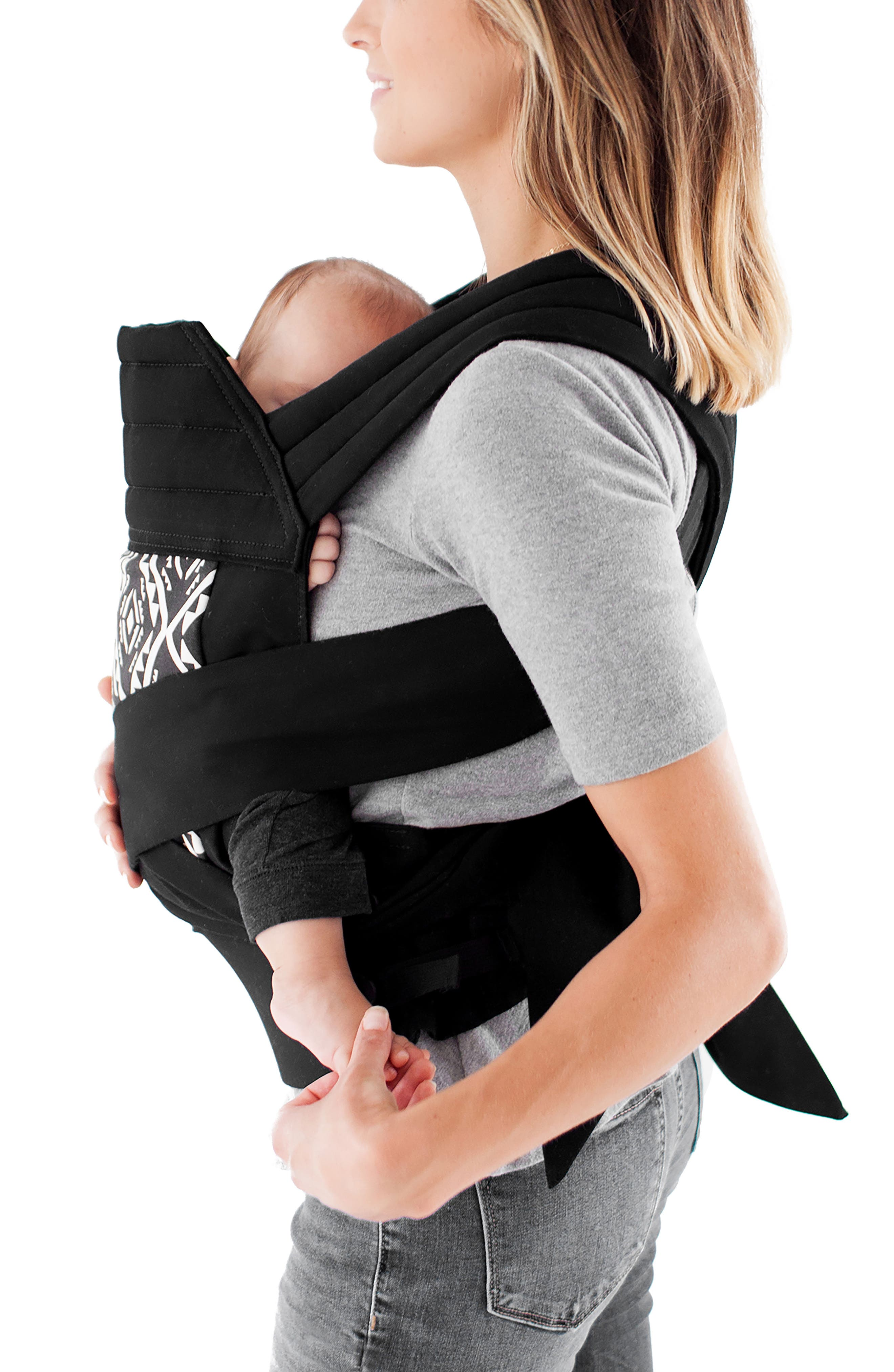 Wrap Buckle Baby Carrier,                             Alternate thumbnail 3, color,                             001