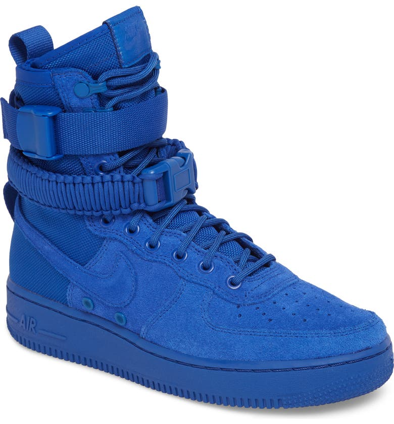 big sale f0f3e c0649 NIKE SF Air Force 1 High Top Sneaker, Main, color, 401