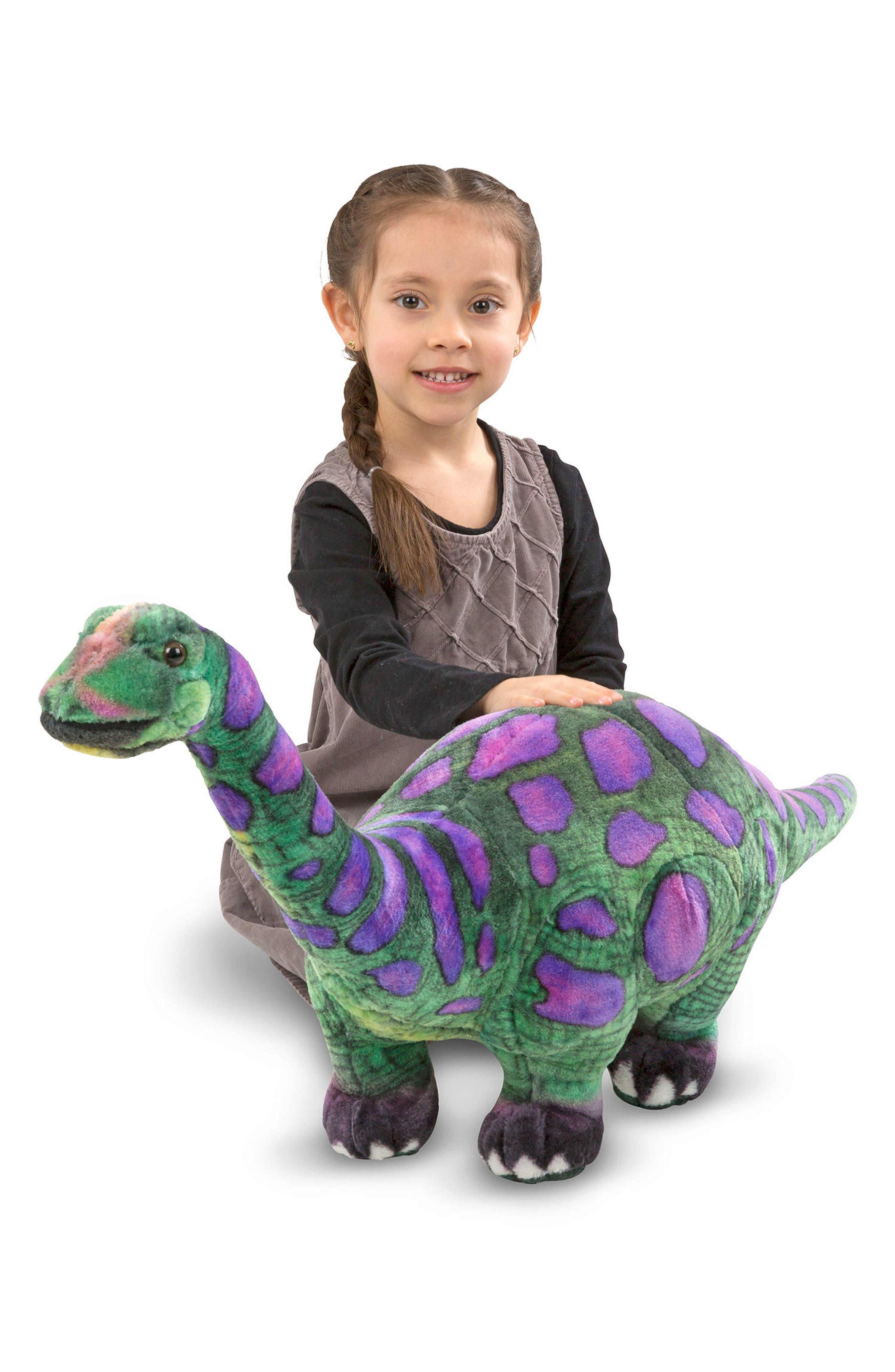 Apatosaurus Stuffed Animal,                             Alternate thumbnail 3, color,                             300