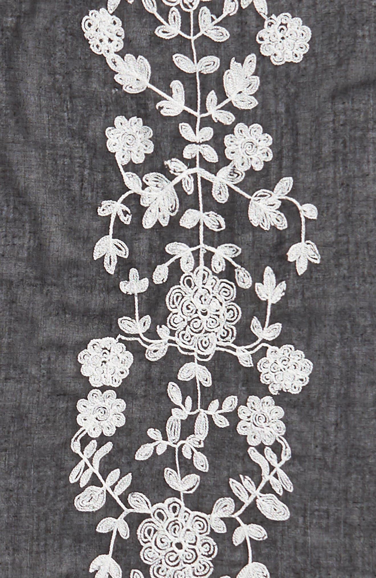 Embroidered Square Scarf,                             Alternate thumbnail 10, color,