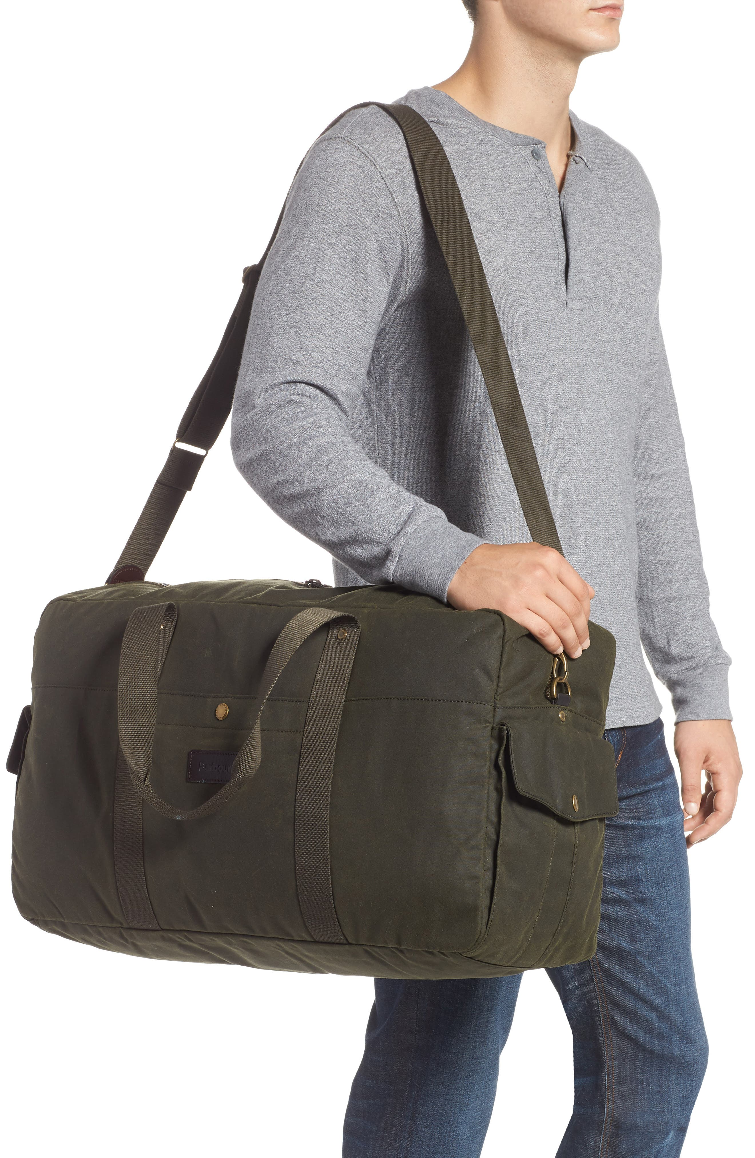 Oakwell Duffel Bag,                             Alternate thumbnail 2, color,                             ARCHIVE OLIVE