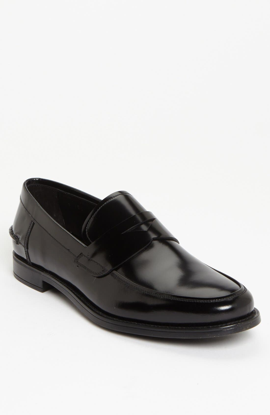 Penny Loafer,                             Main thumbnail 1, color,                             001