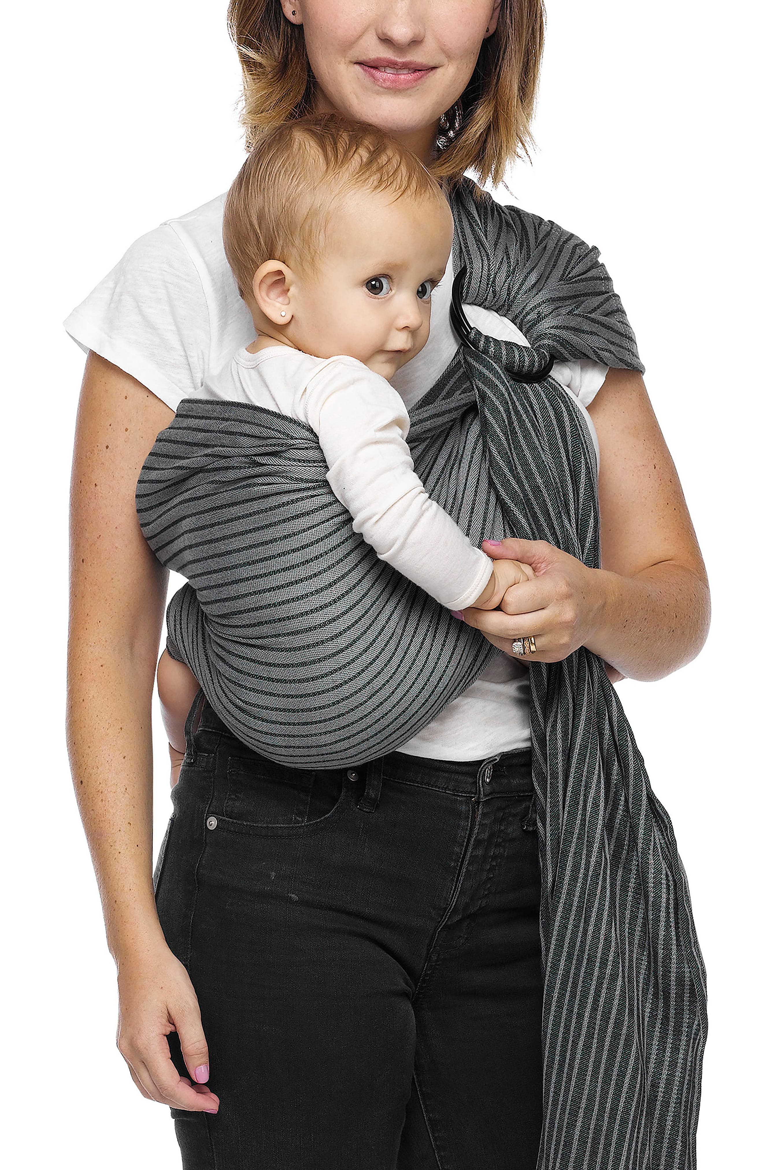 Baby Sling Carrier,                         Main,                         color, JET RIBBONS