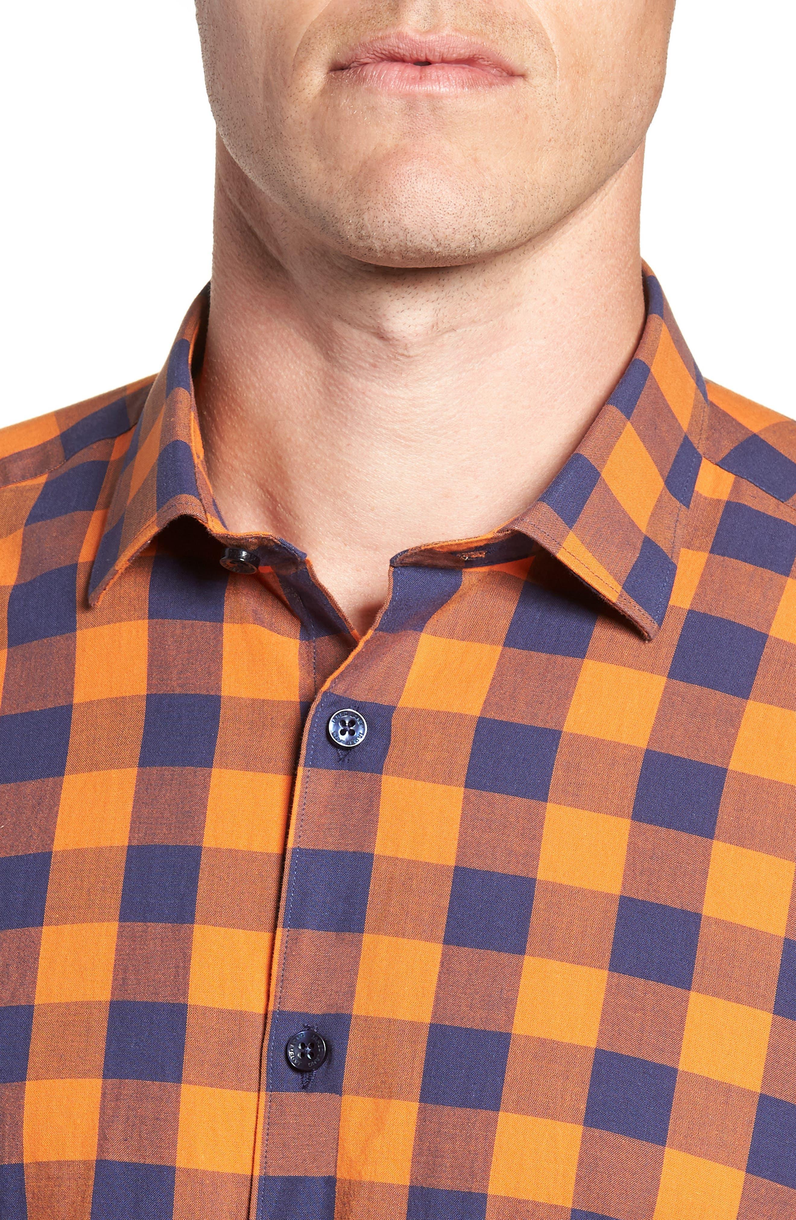 Trim Fit Sport Shirt,                             Alternate thumbnail 2, color,                             800