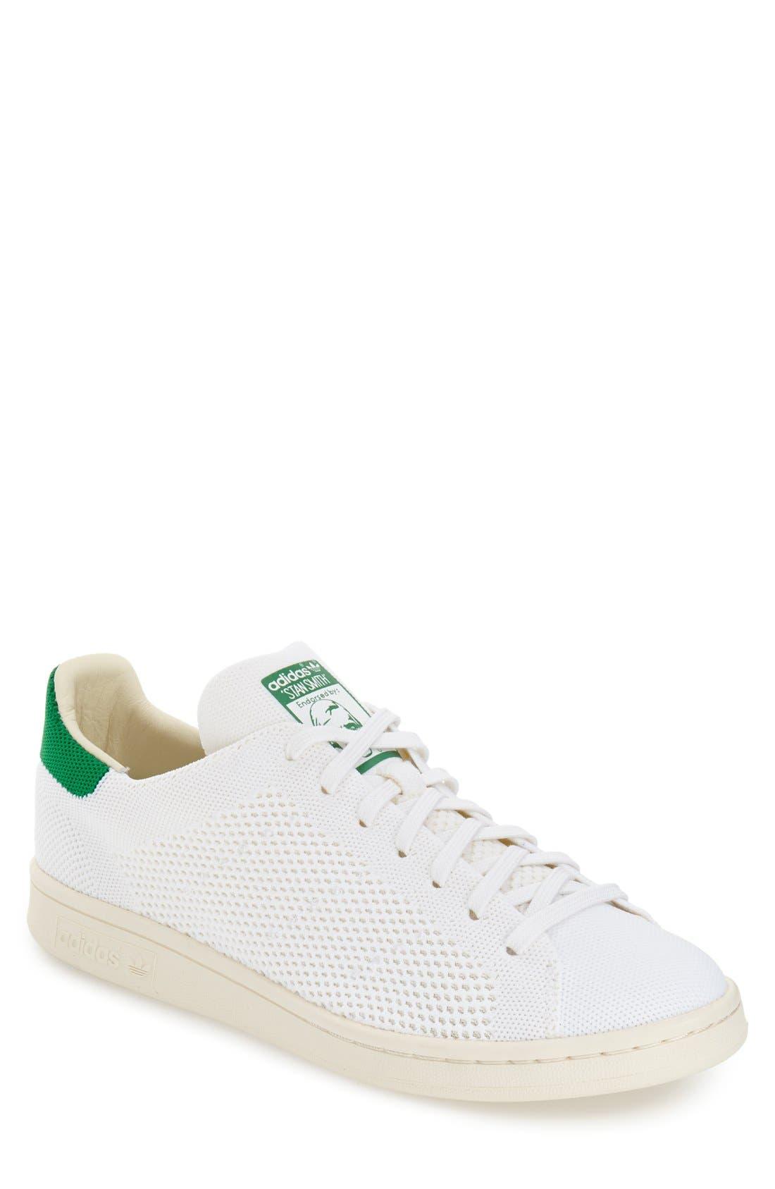 ADIDAS,                             'Stan Smith OG Primeknit' Sneaker,                             Main thumbnail 1, color,                             101