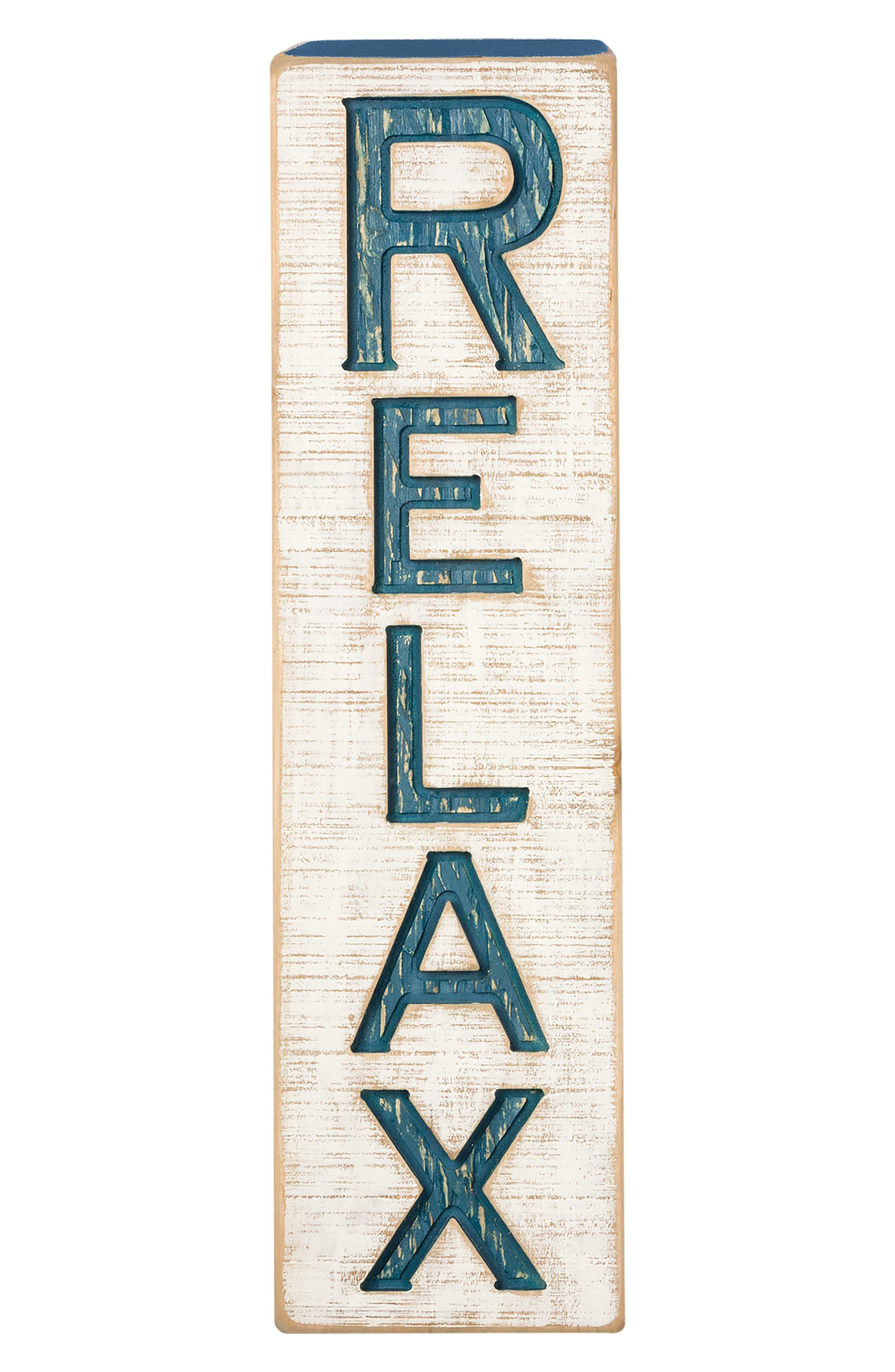 Relax Farmhouse Wall Art,                             Alternate thumbnail 3, color,