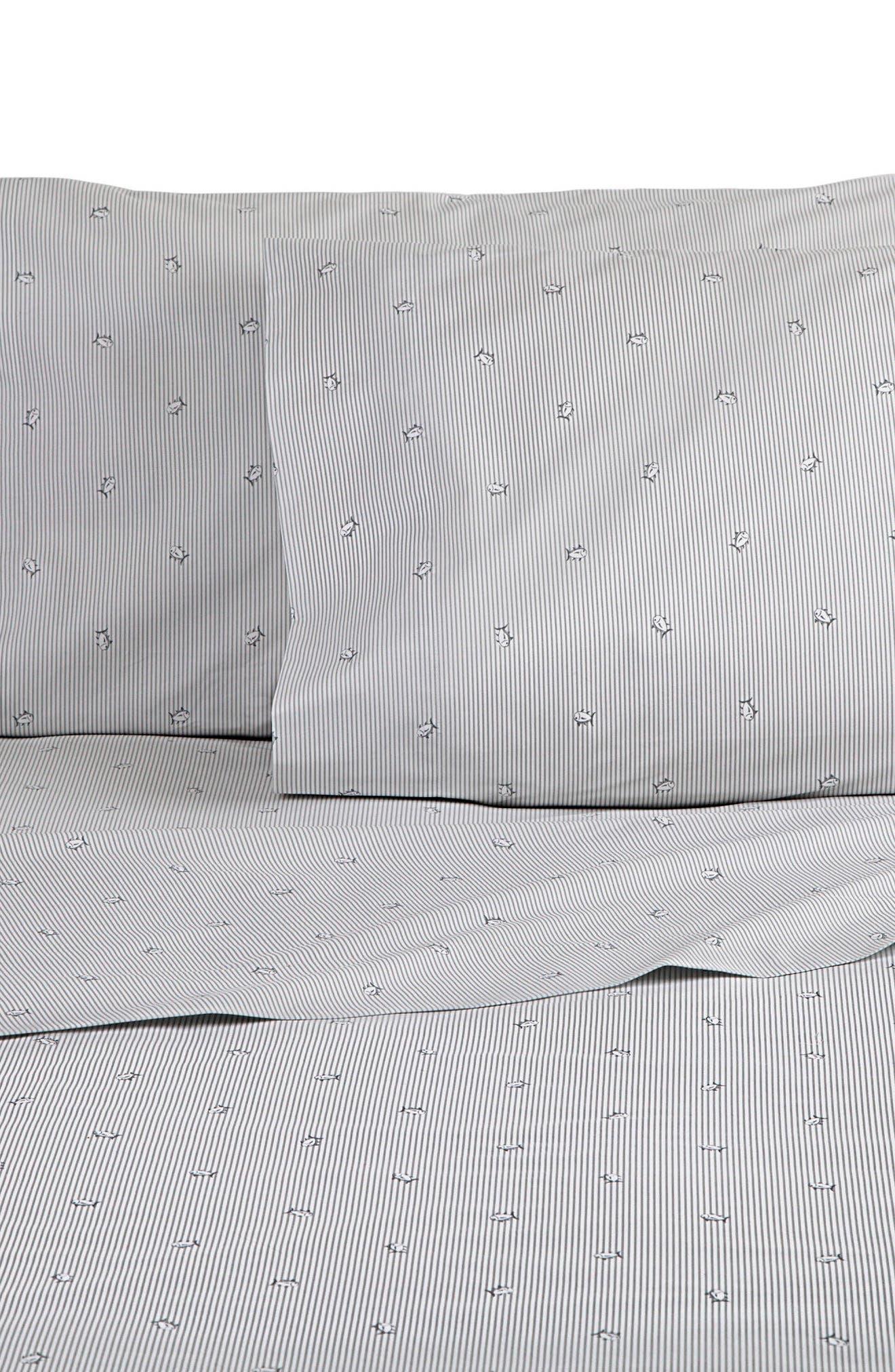 SOUTHERN TIDE Skipjack Stripe Sheet Set, Main, color, 020