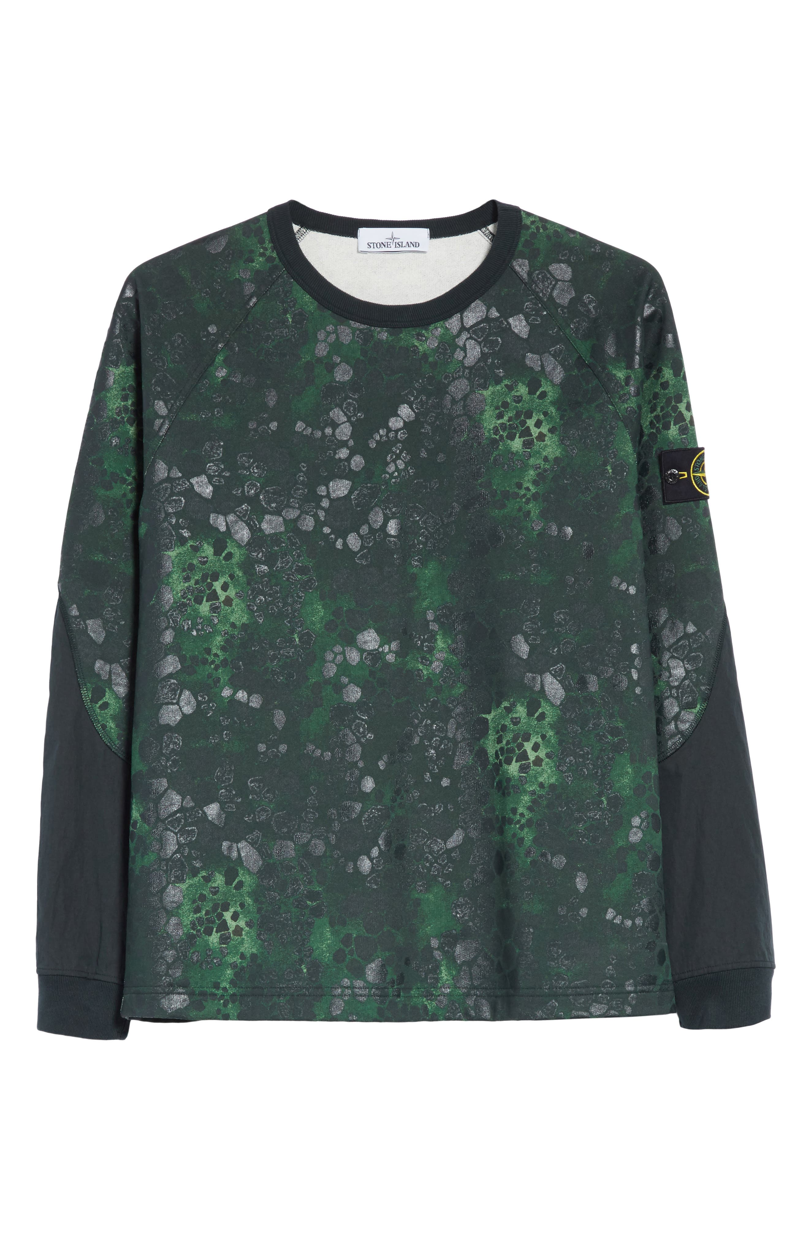 Military Crewneck Sweatshirt,                             Alternate thumbnail 6, color,                             300