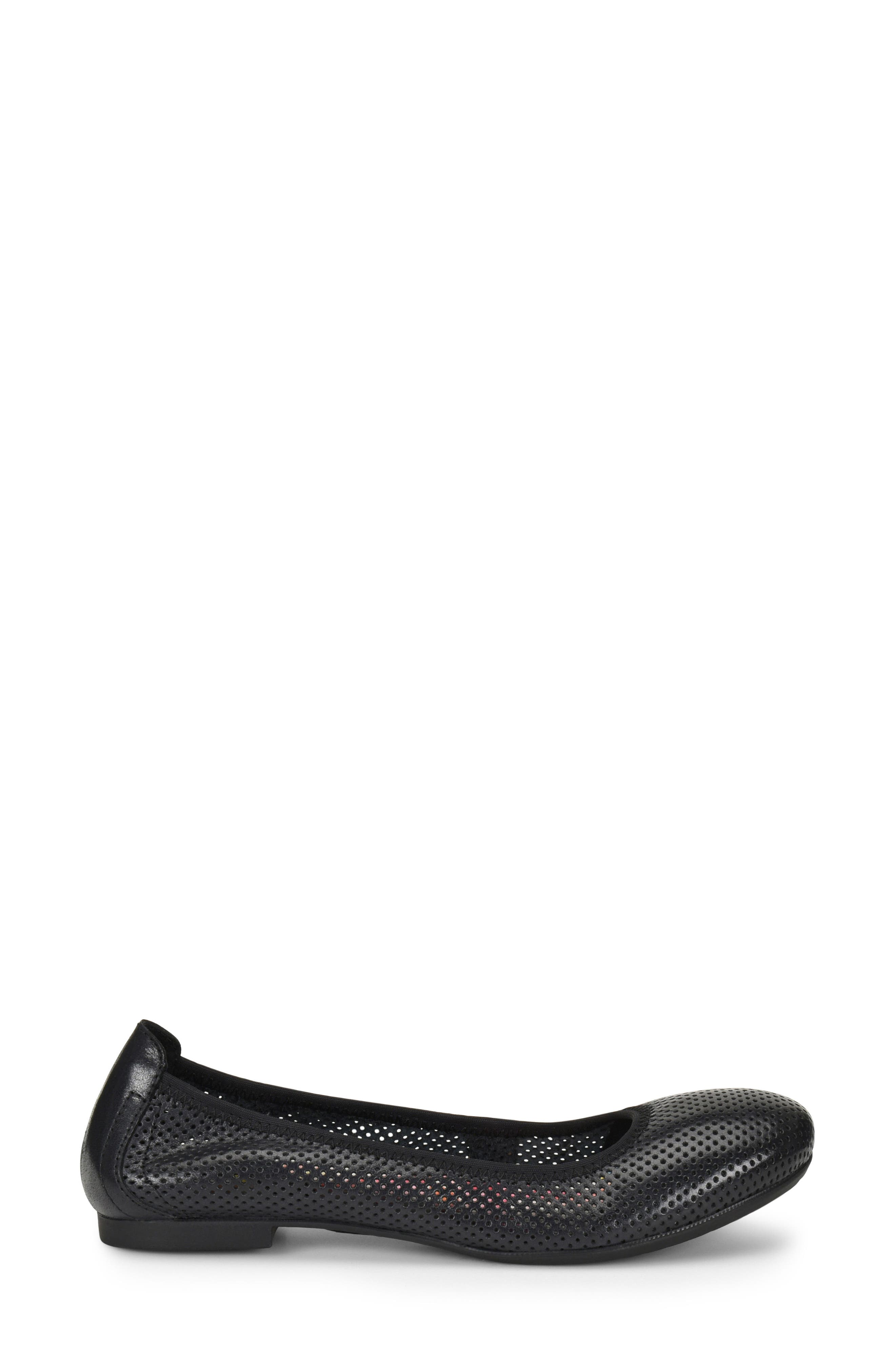 Julianne Perforated Flat,                             Alternate thumbnail 9, color,