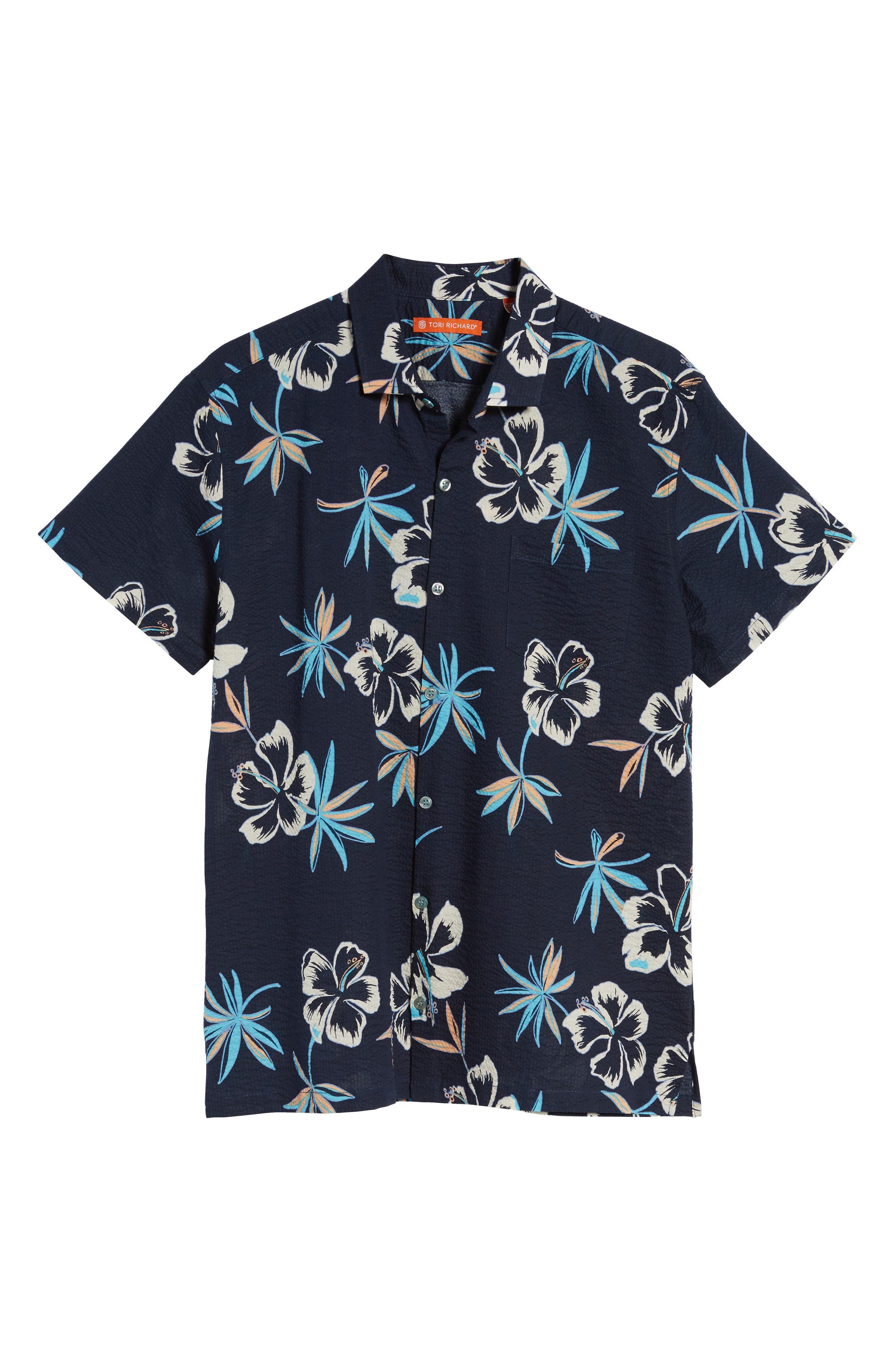 So Fresh Trim Fit Cotton Lawn Sport Shirt,                             Alternate thumbnail 6, color,                             415