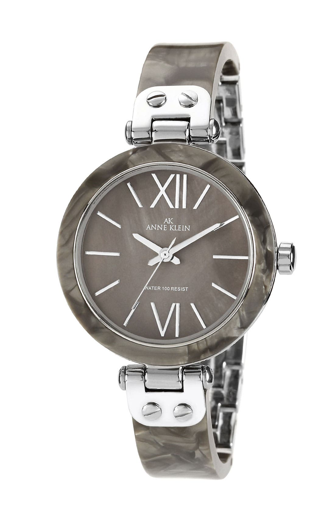 Round Skinny Bangle Watch, 33mm, Main, color, 020