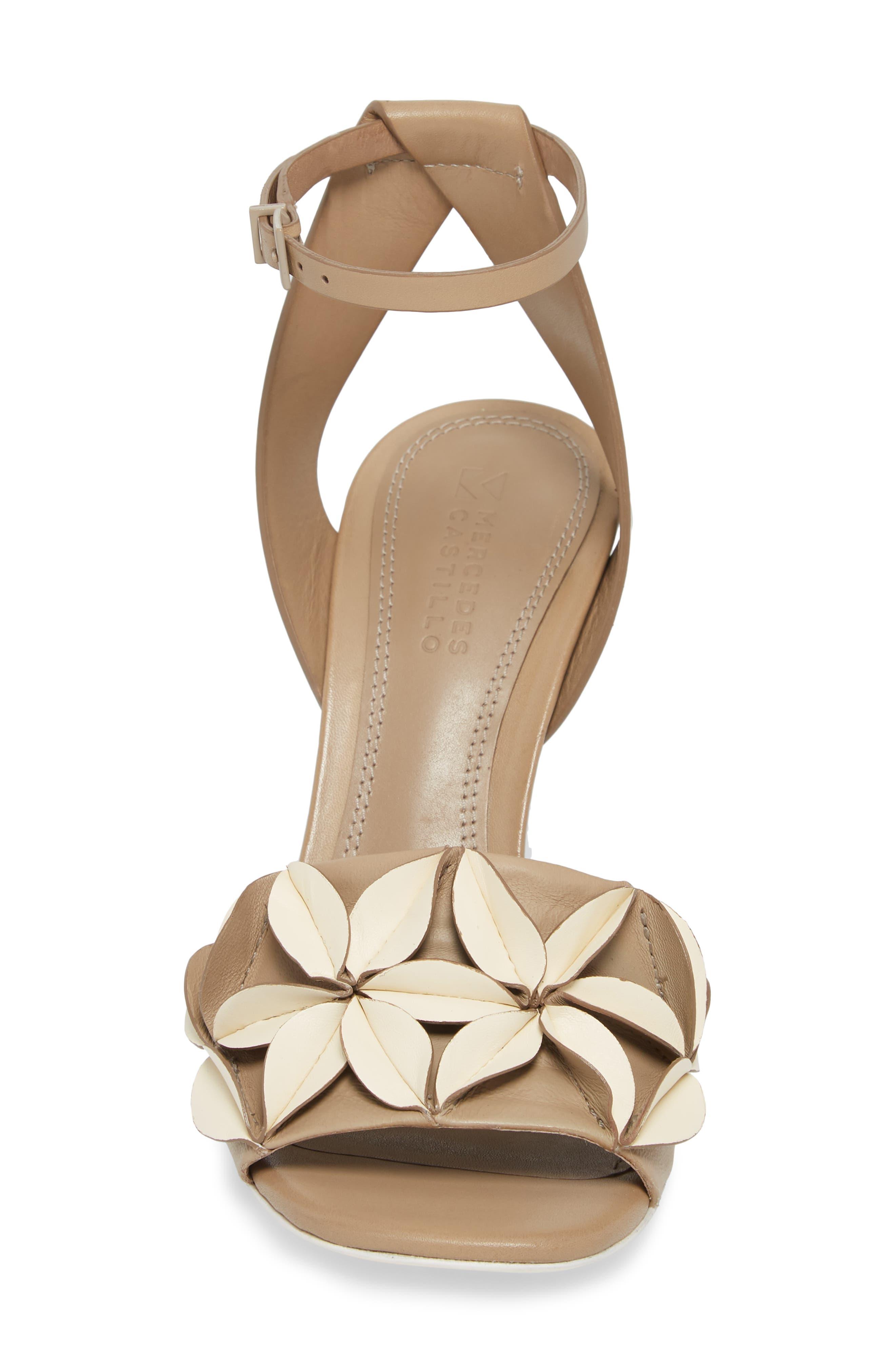 Milee Ankle Strap Sandal,                             Alternate thumbnail 4, color,                             250