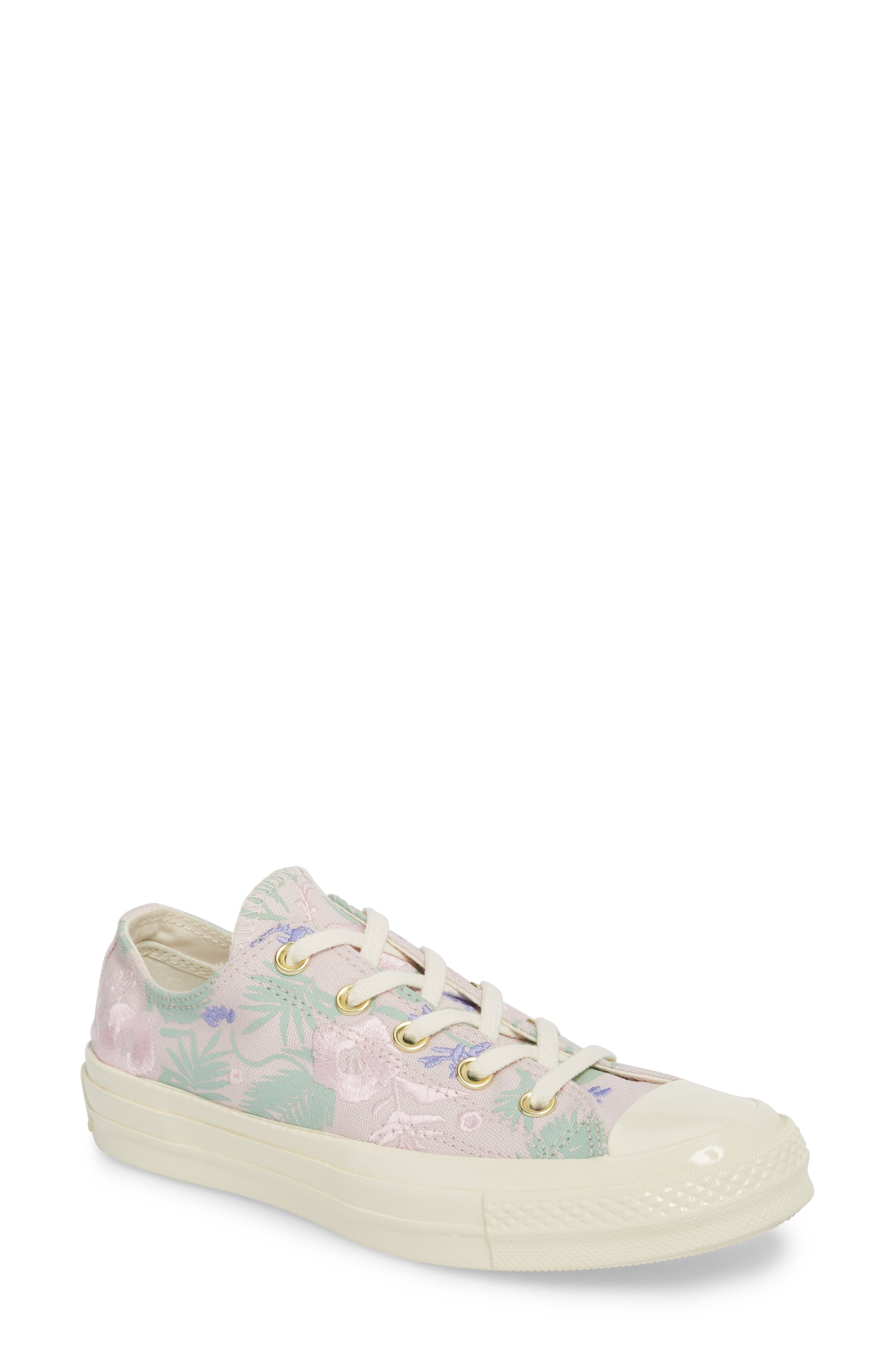 Chuck Taylor<sup>®</sup> All Star<sup>®</sup> 70 Palm Print Low Top Sneaker,                         Main,                         color, 658