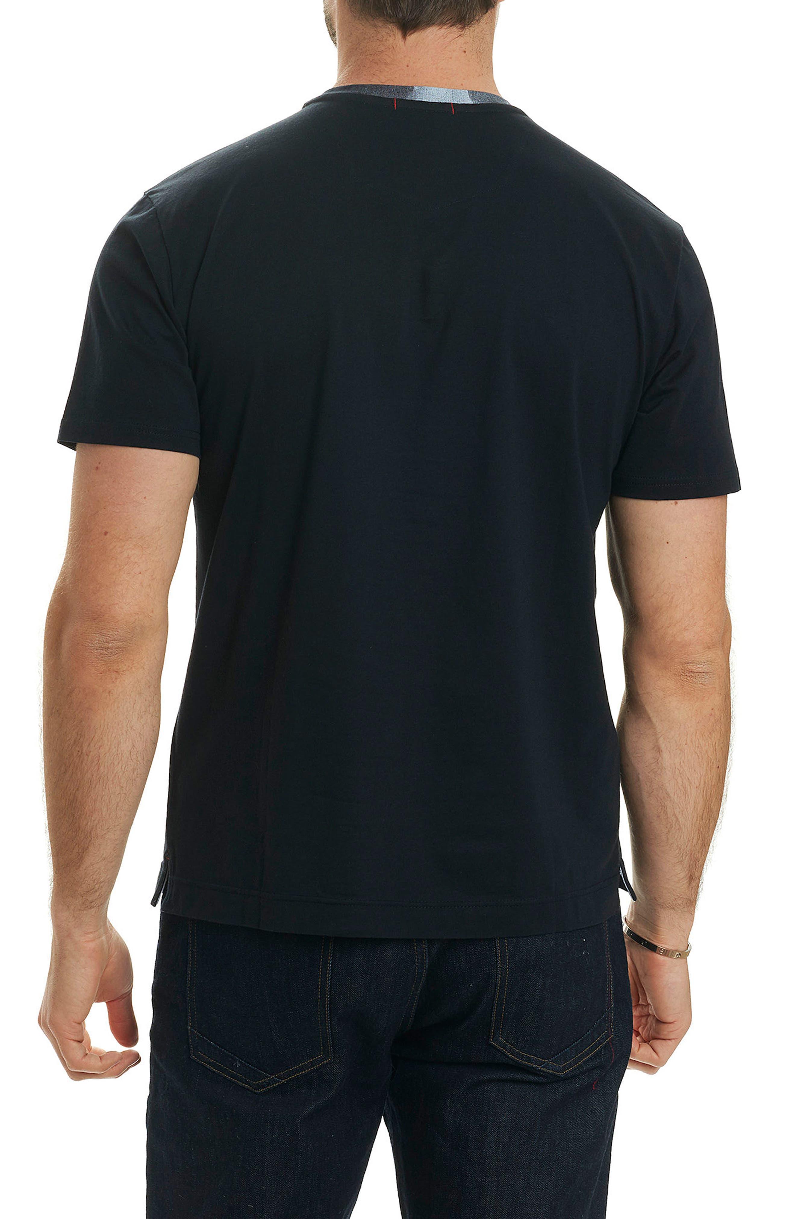 Rams Head Graphic T-Shirt,                             Alternate thumbnail 2, color,                             001