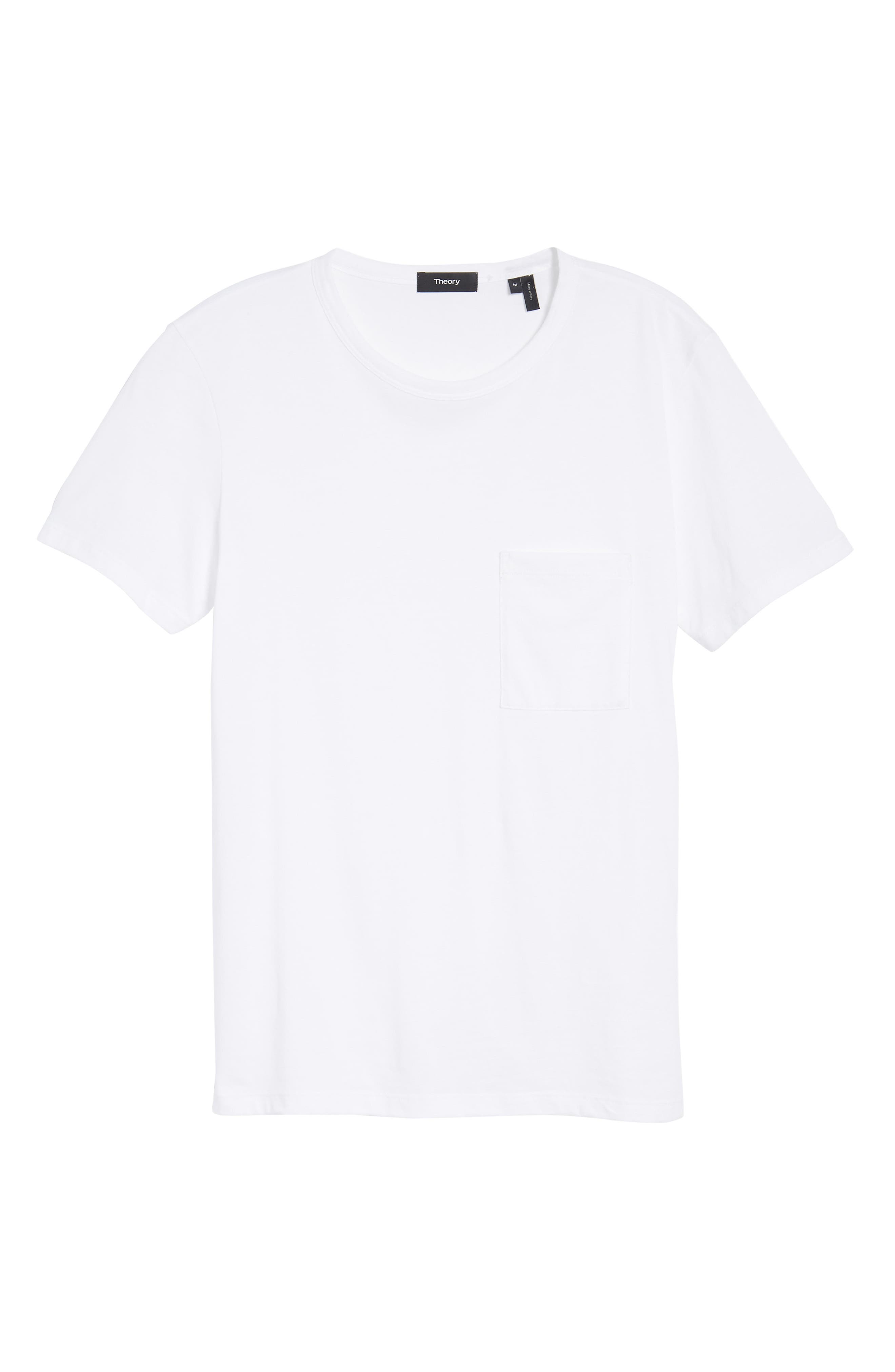 Essential Regular Fit T-Shirt,                             Alternate thumbnail 6, color,                             WHITE