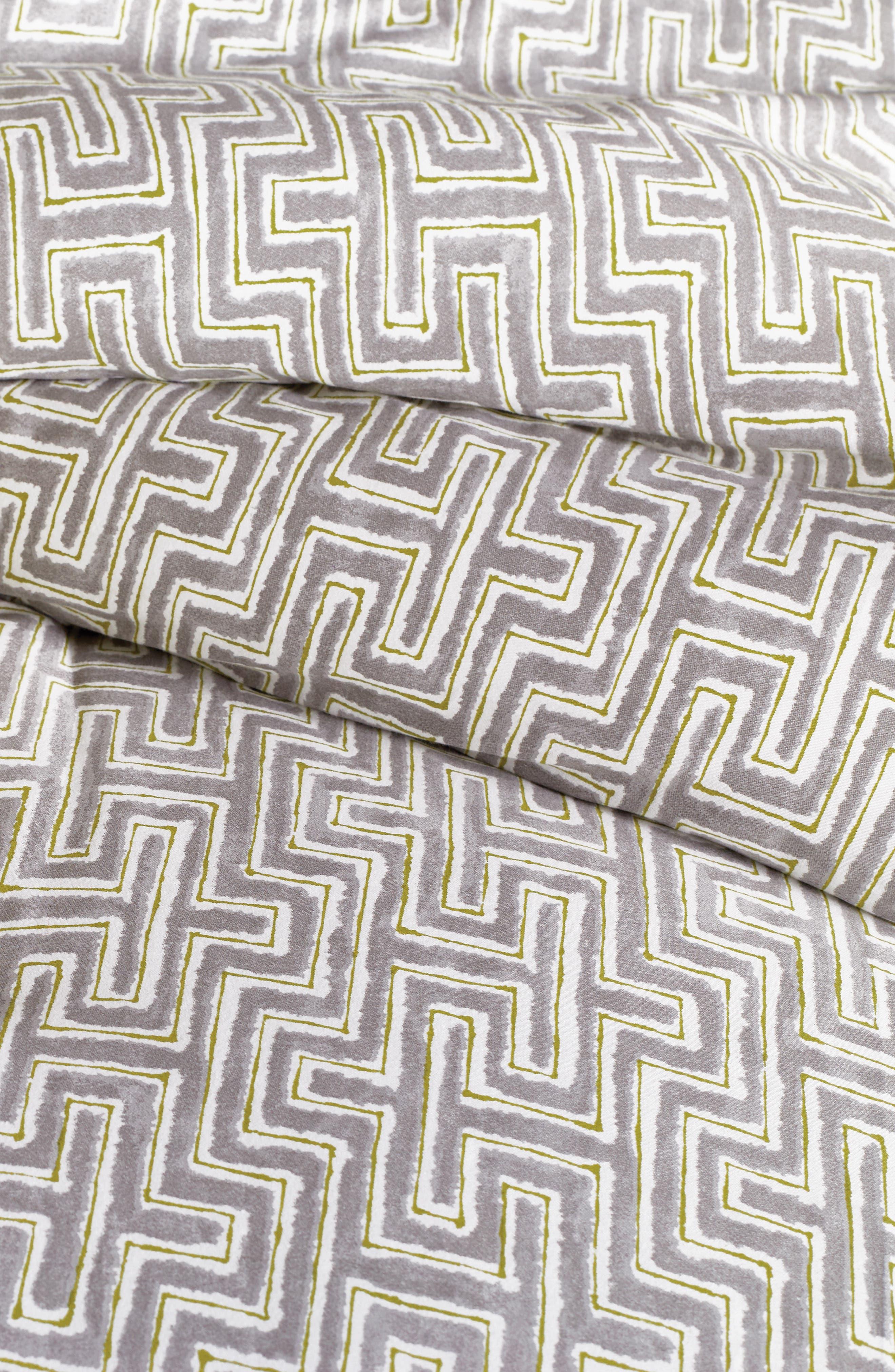 BEDECK,                             Koba Comforter, Sham & Accent Pillow Set,                             Alternate thumbnail 2, color,                             LIGHT GREY
