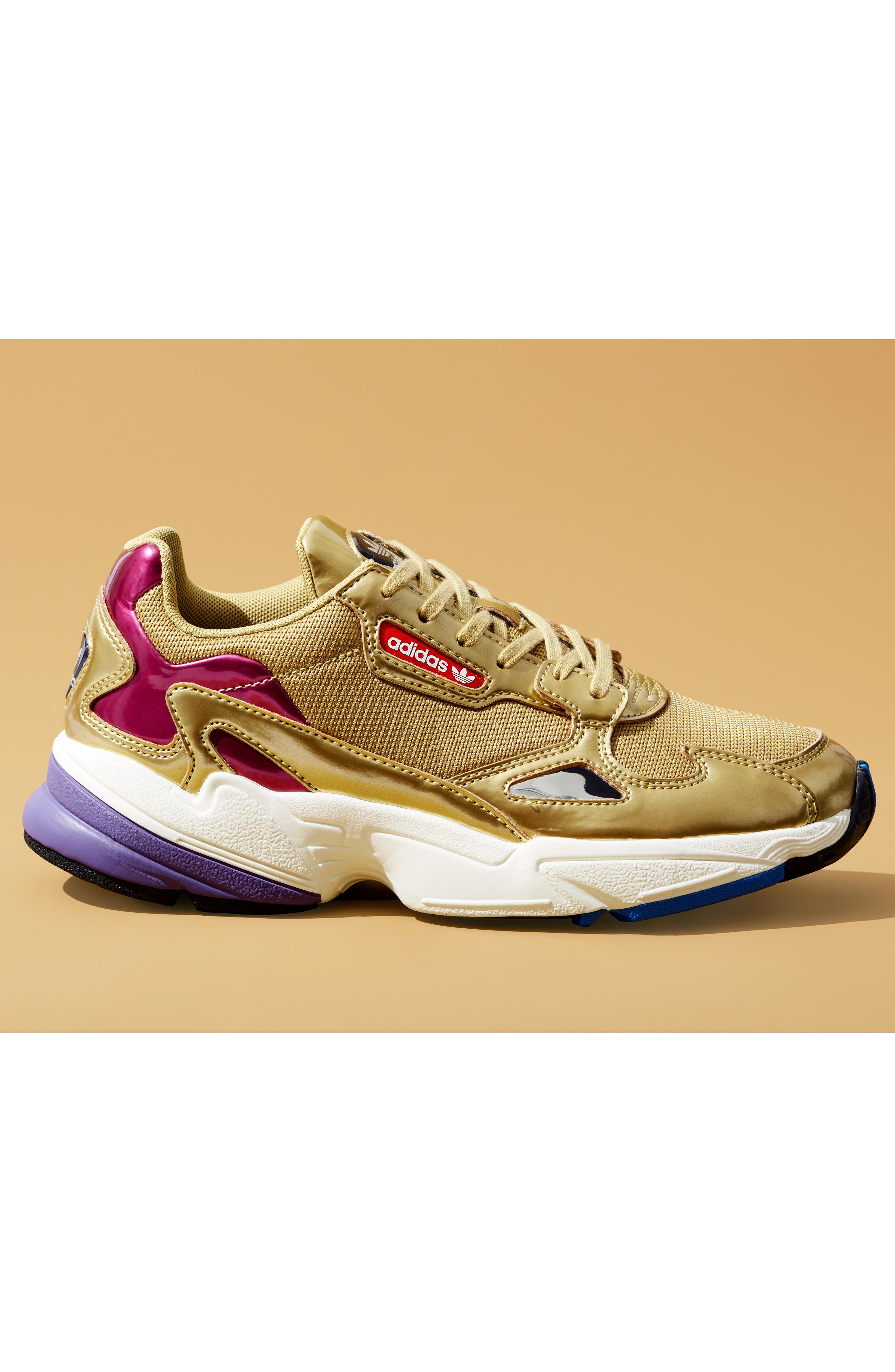 Falcon Sneaker,                             Alternate thumbnail 7, color,                             WHITE
