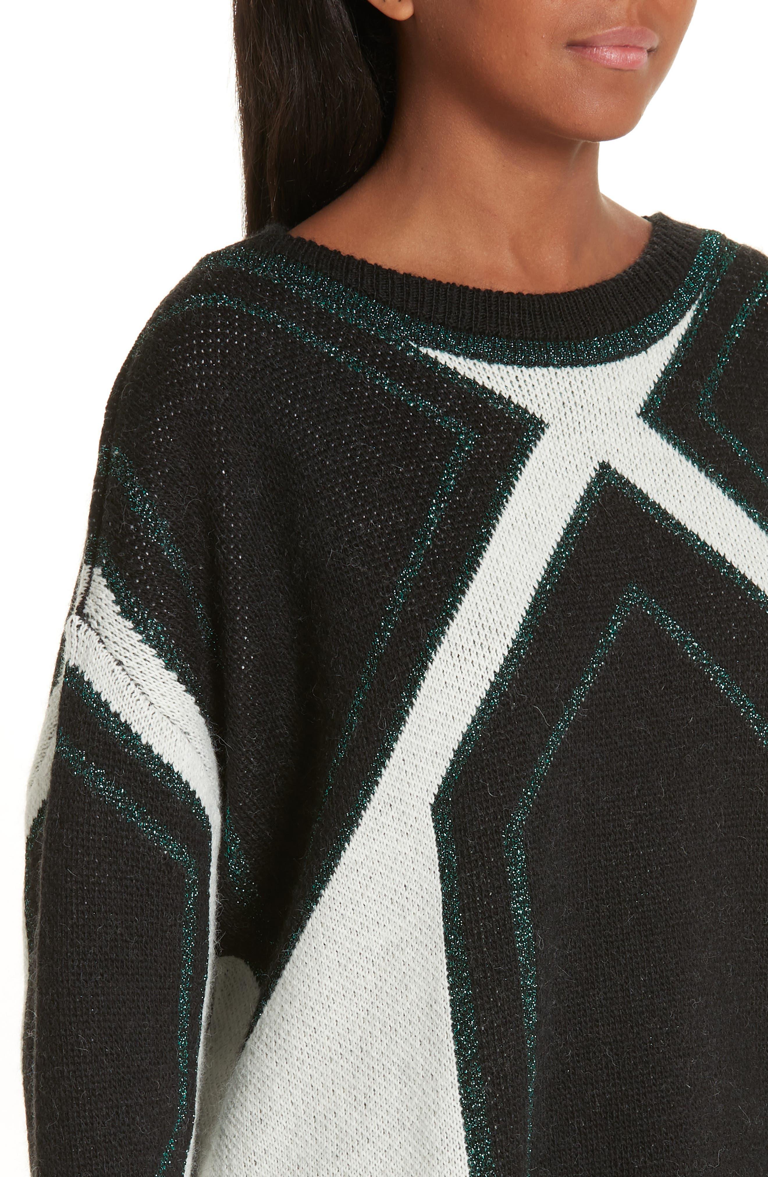 Velny Sweater,                             Alternate thumbnail 4, color,                             MULTI