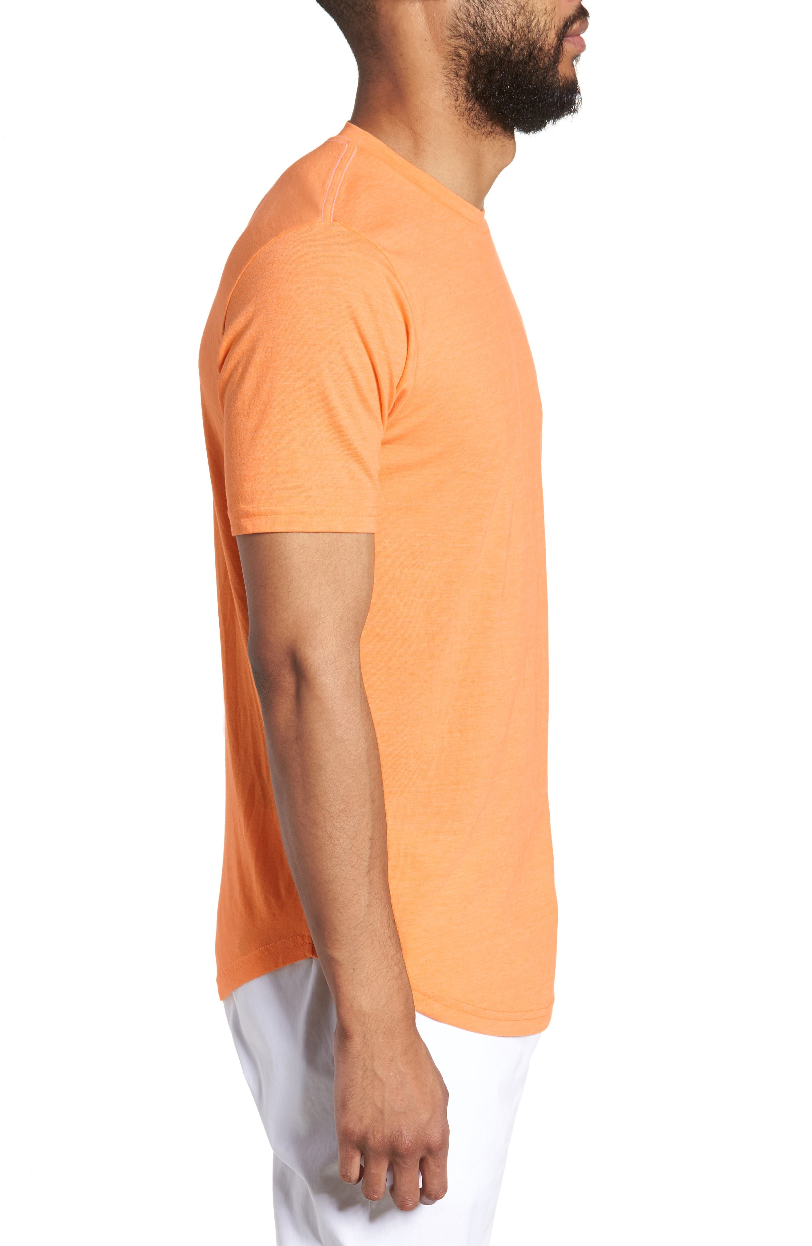 Scallop Triblend Crewneck T-Shirt,                             Alternate thumbnail 60, color,