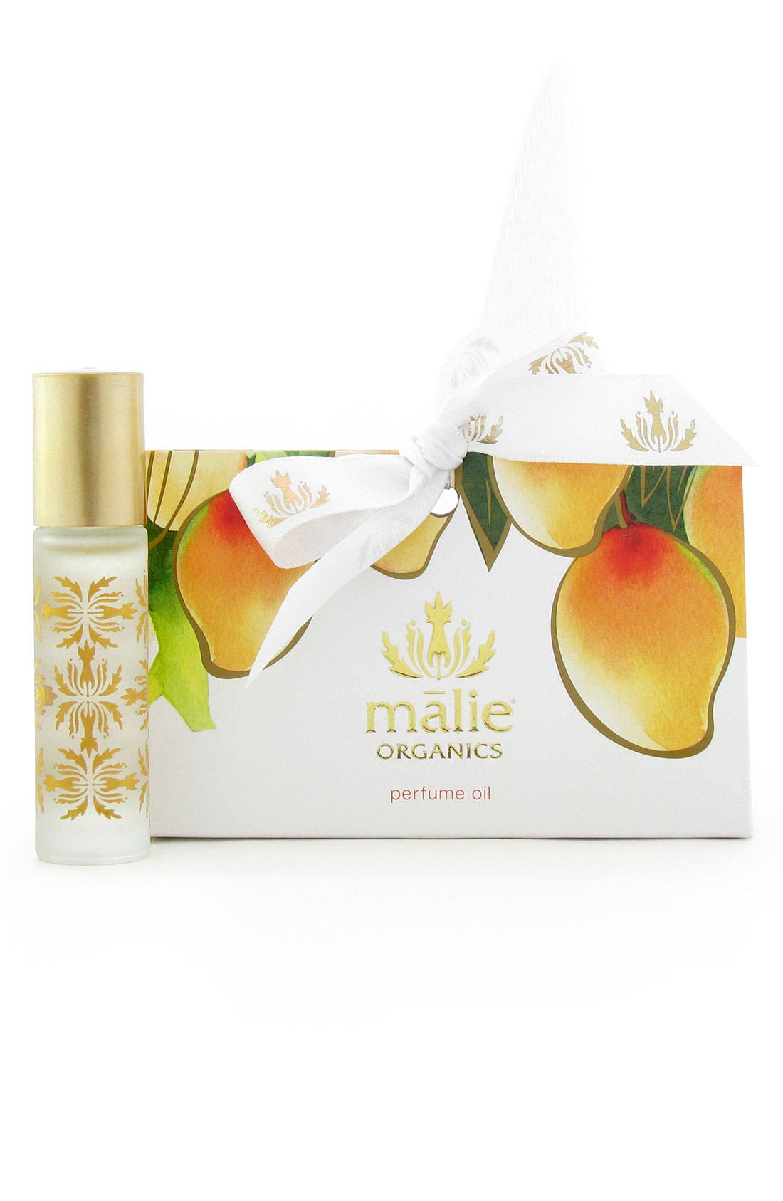 Mango Nectar Organic Roll-On Perfume Oil,                             Main thumbnail 1, color,                             000
