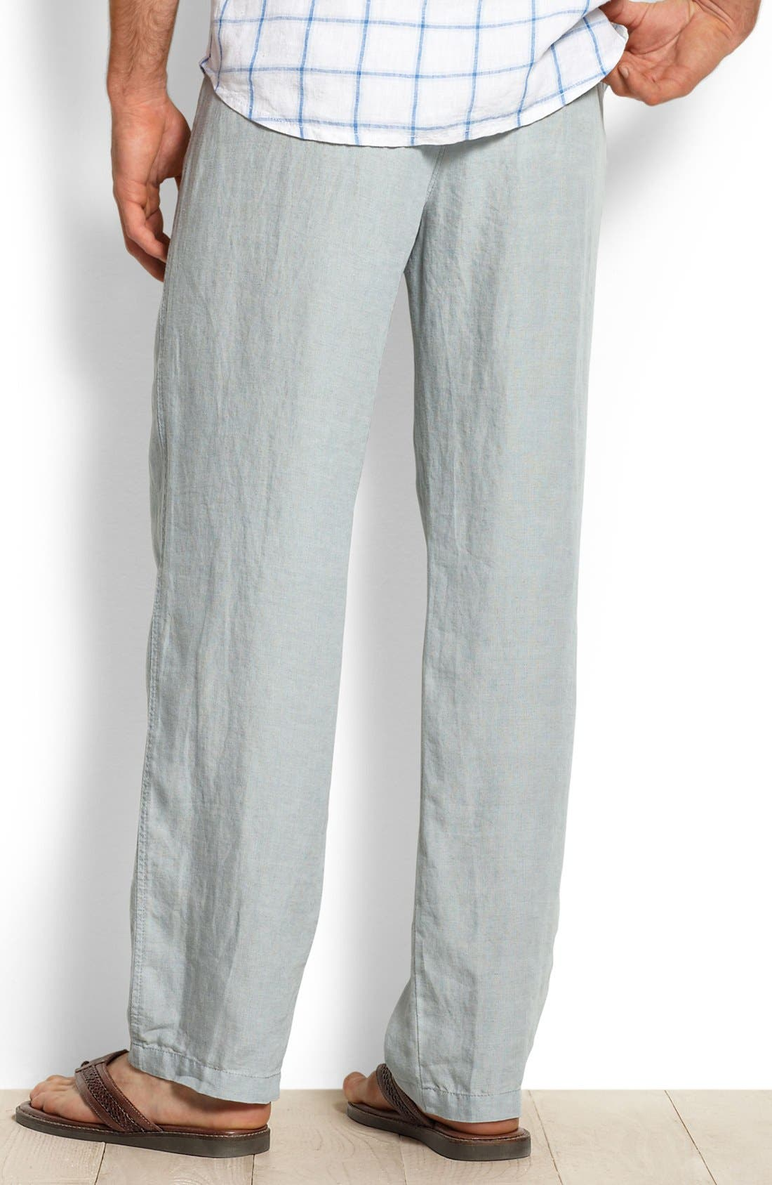 New Linen on the Beach Linen Pants,                             Alternate thumbnail 9, color,