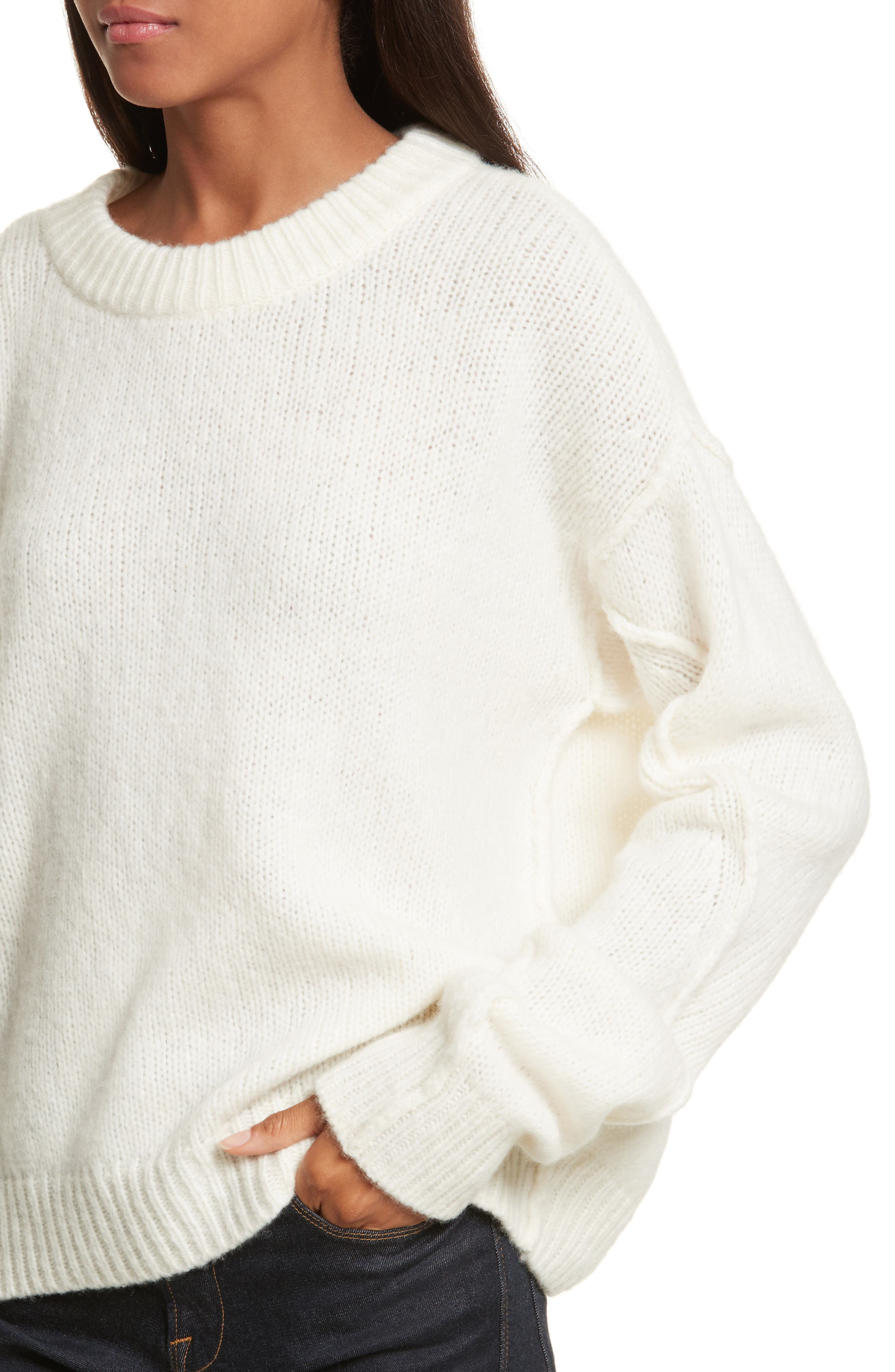Eva Sweater with Removable Turtleneck,                             Alternate thumbnail 12, color,