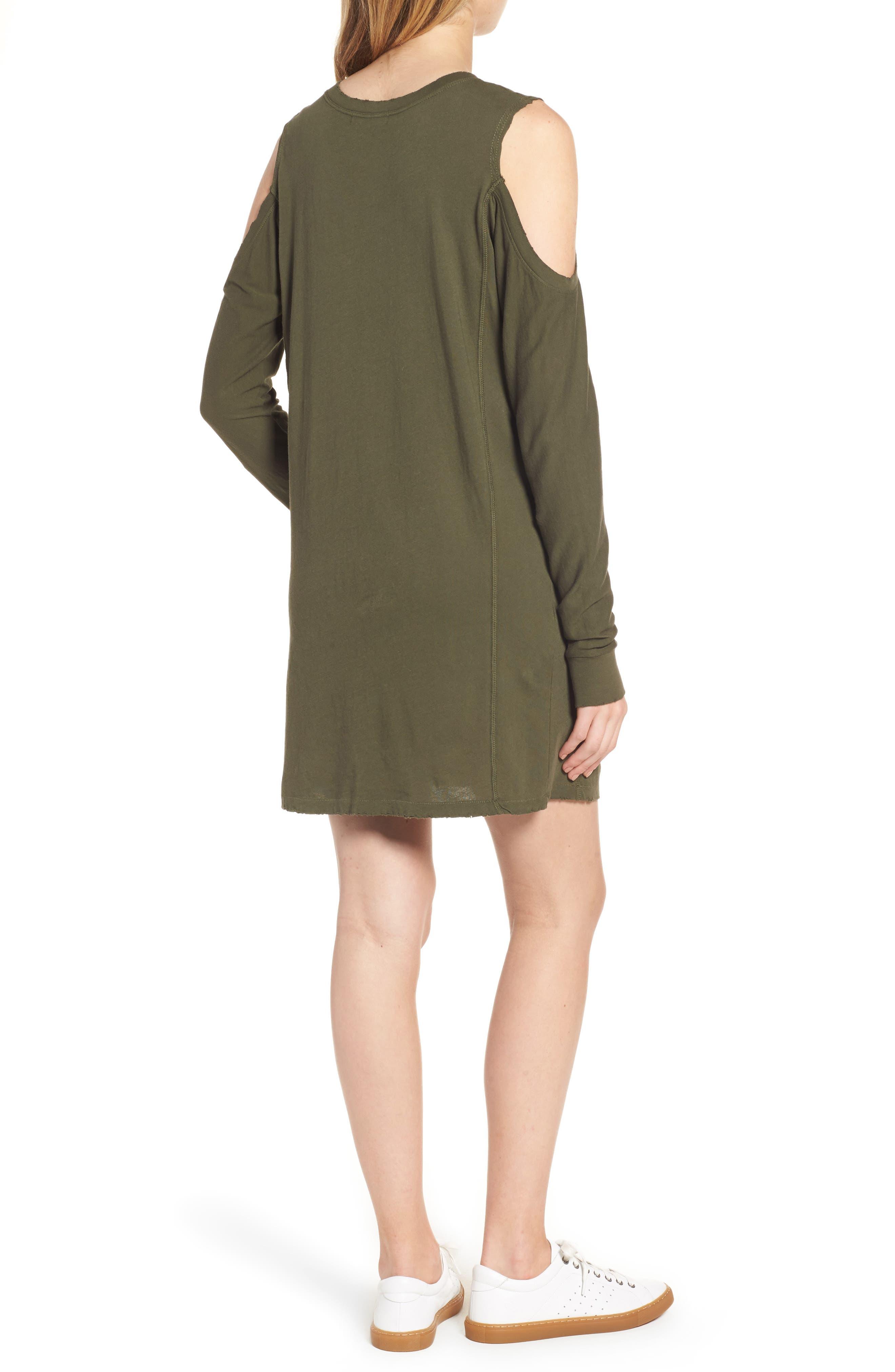 Billie Cold Shoulder Minidress,                             Alternate thumbnail 2, color,                             310