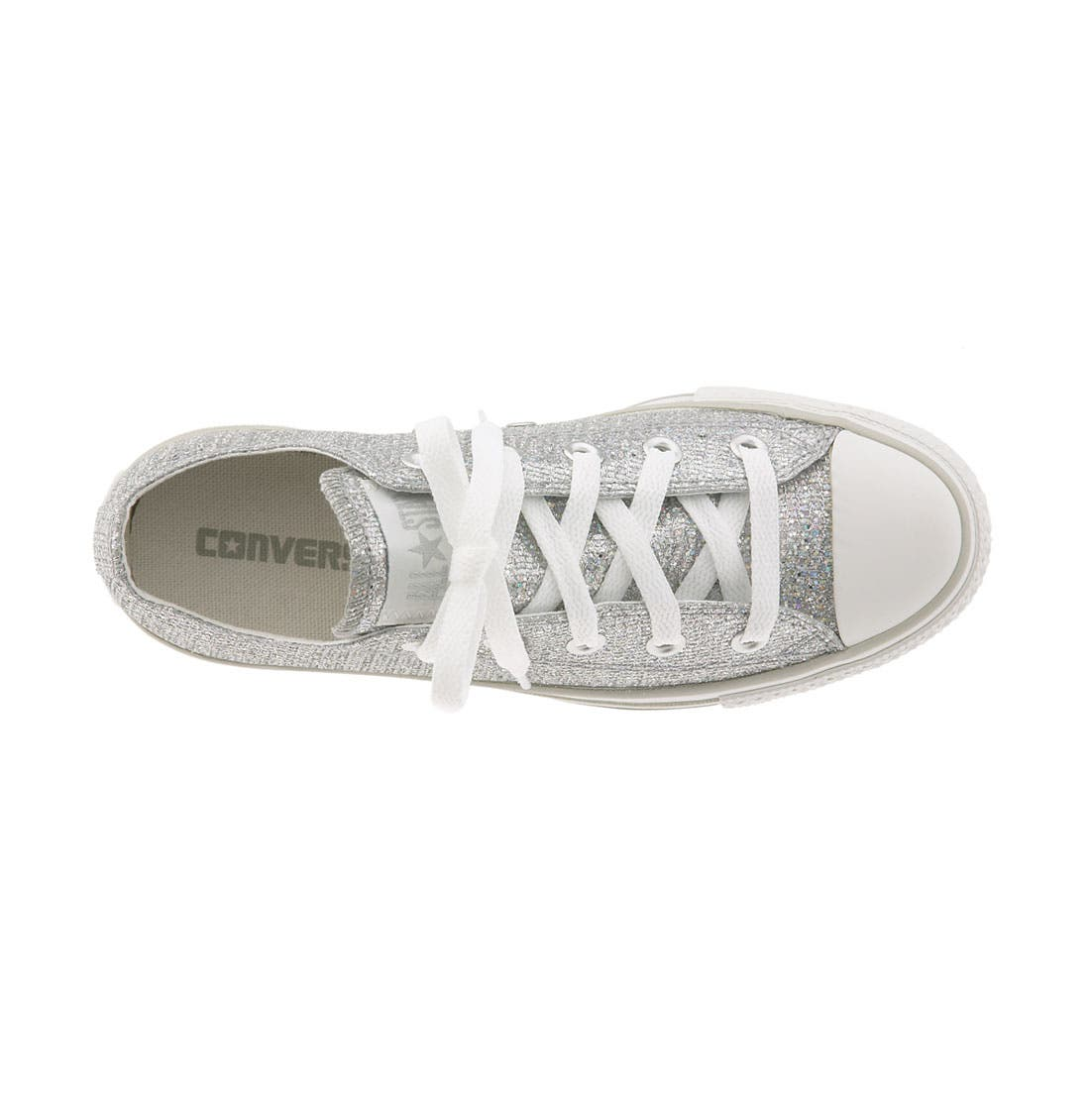 Chuck Taylor<sup>®</sup> 'Sparkle' Sneaker,                             Alternate thumbnail 4, color,                             047