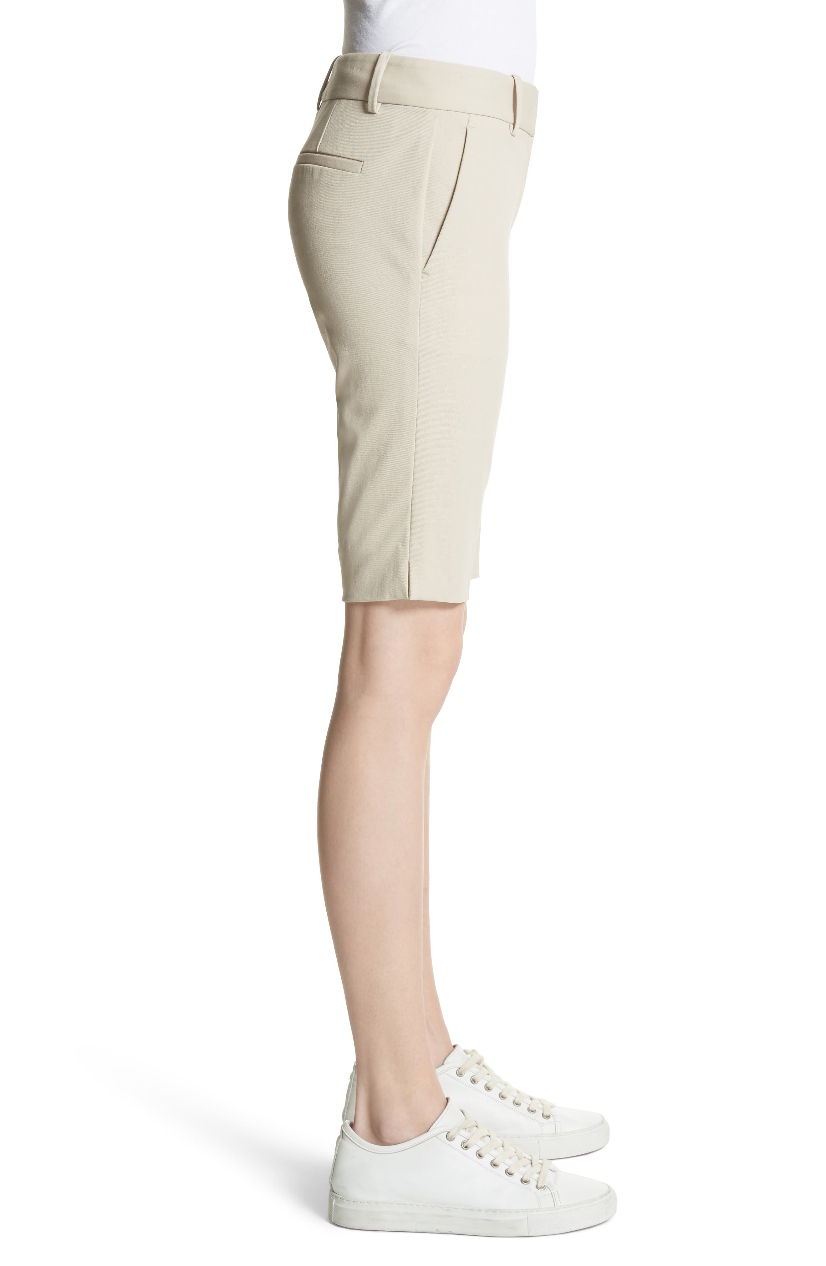 Approach Stretch Twill Slim Bermuda Shorts,                             Alternate thumbnail 3, color,                             257