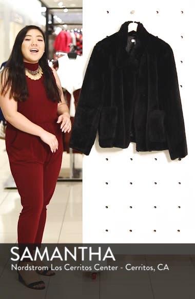 Fur-Fect Faux Fur Jacket, sales video thumbnail